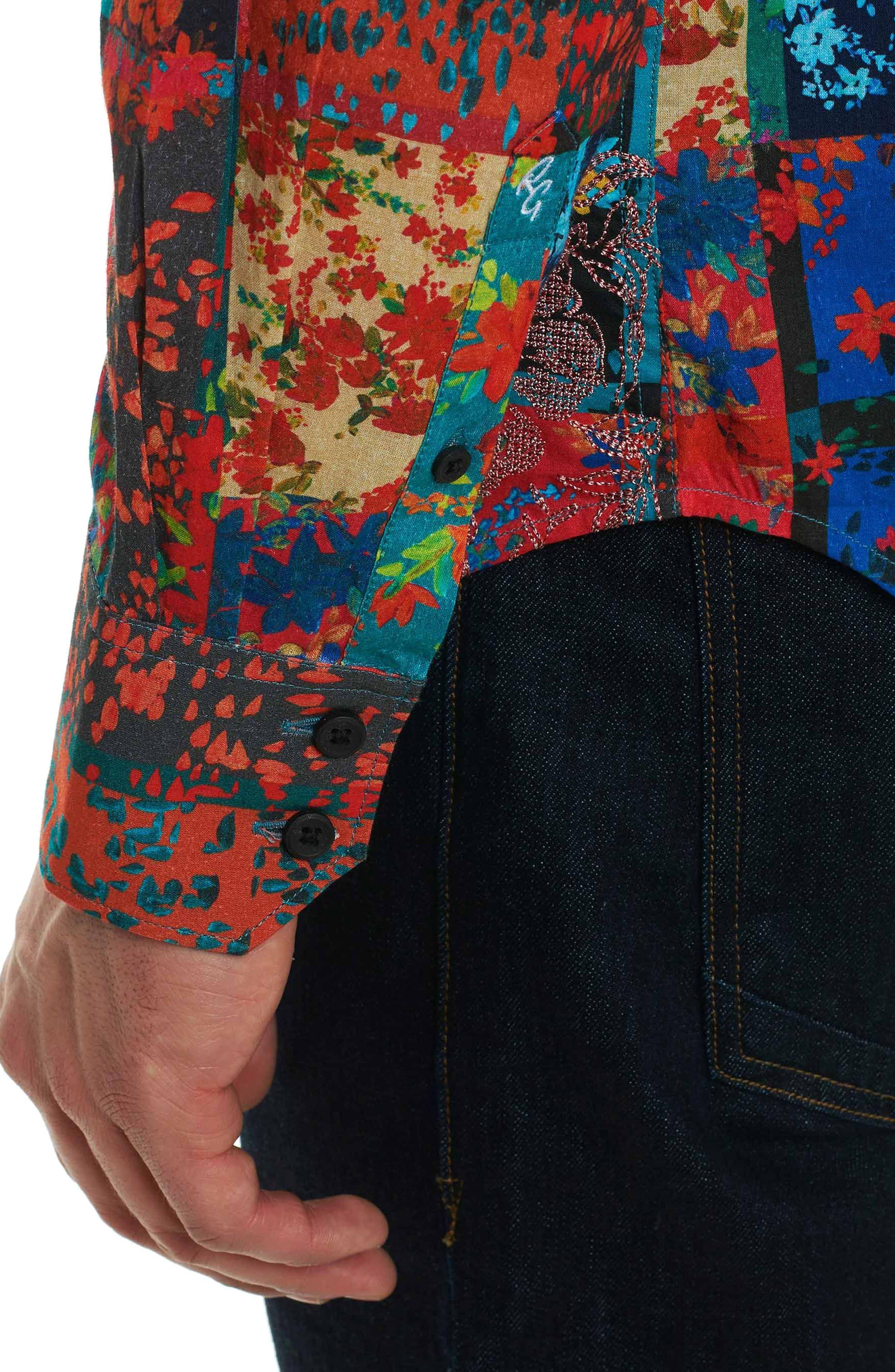 Alternate Image 5  - Robert Graham Shiraz Classic Fit Sport Shirt