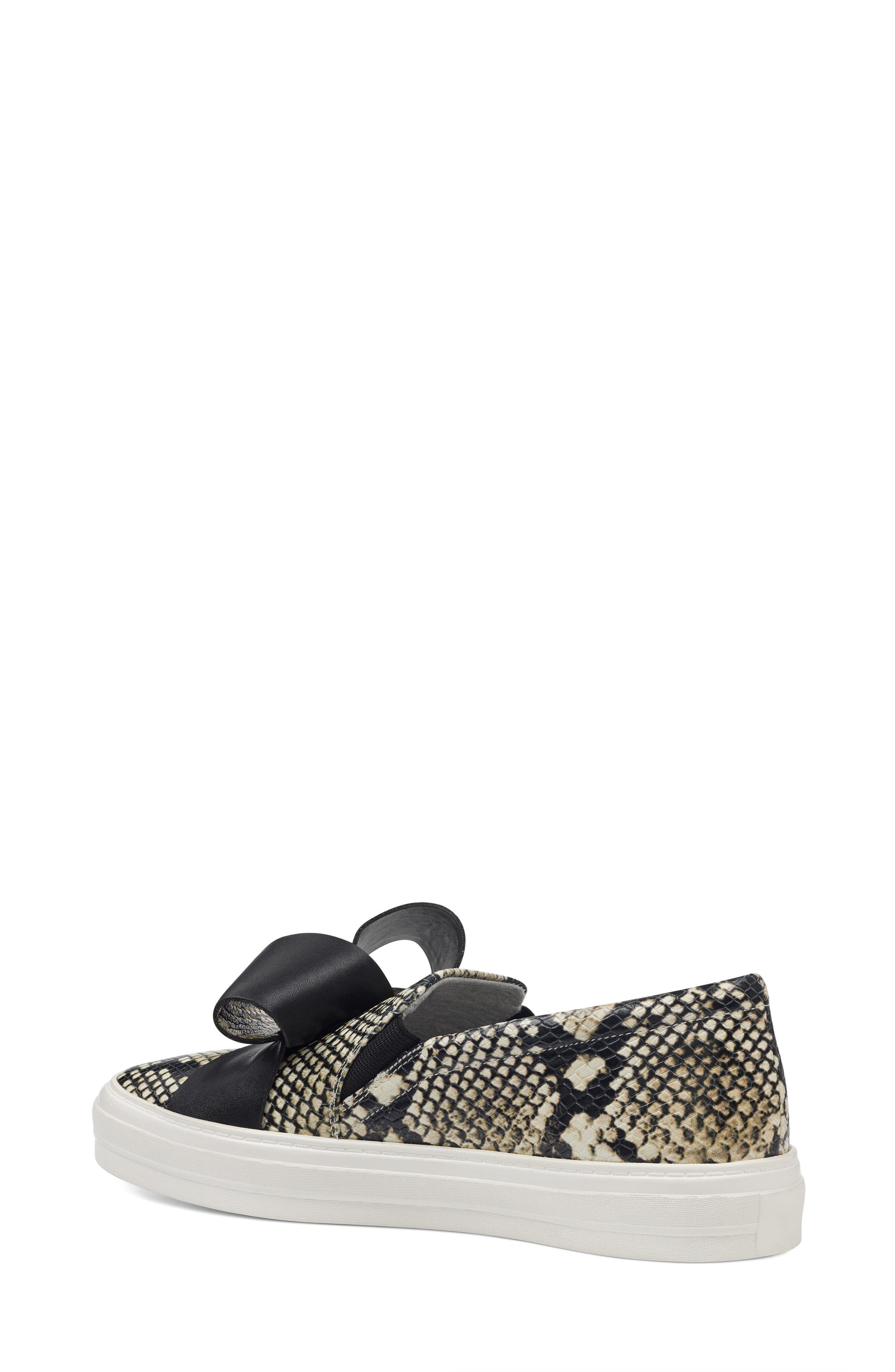Odienella Slip-On Sneaker,                             Alternate thumbnail 2, color,                             Off White Multi Leather