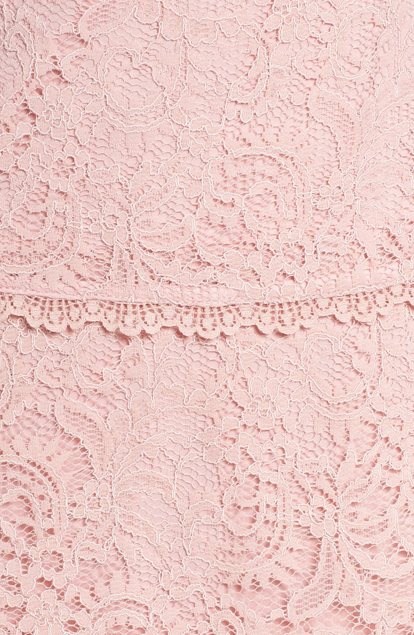 Sophia Tiered Lace Dress,                             Alternate thumbnail 5, color,                             Lilac Mist