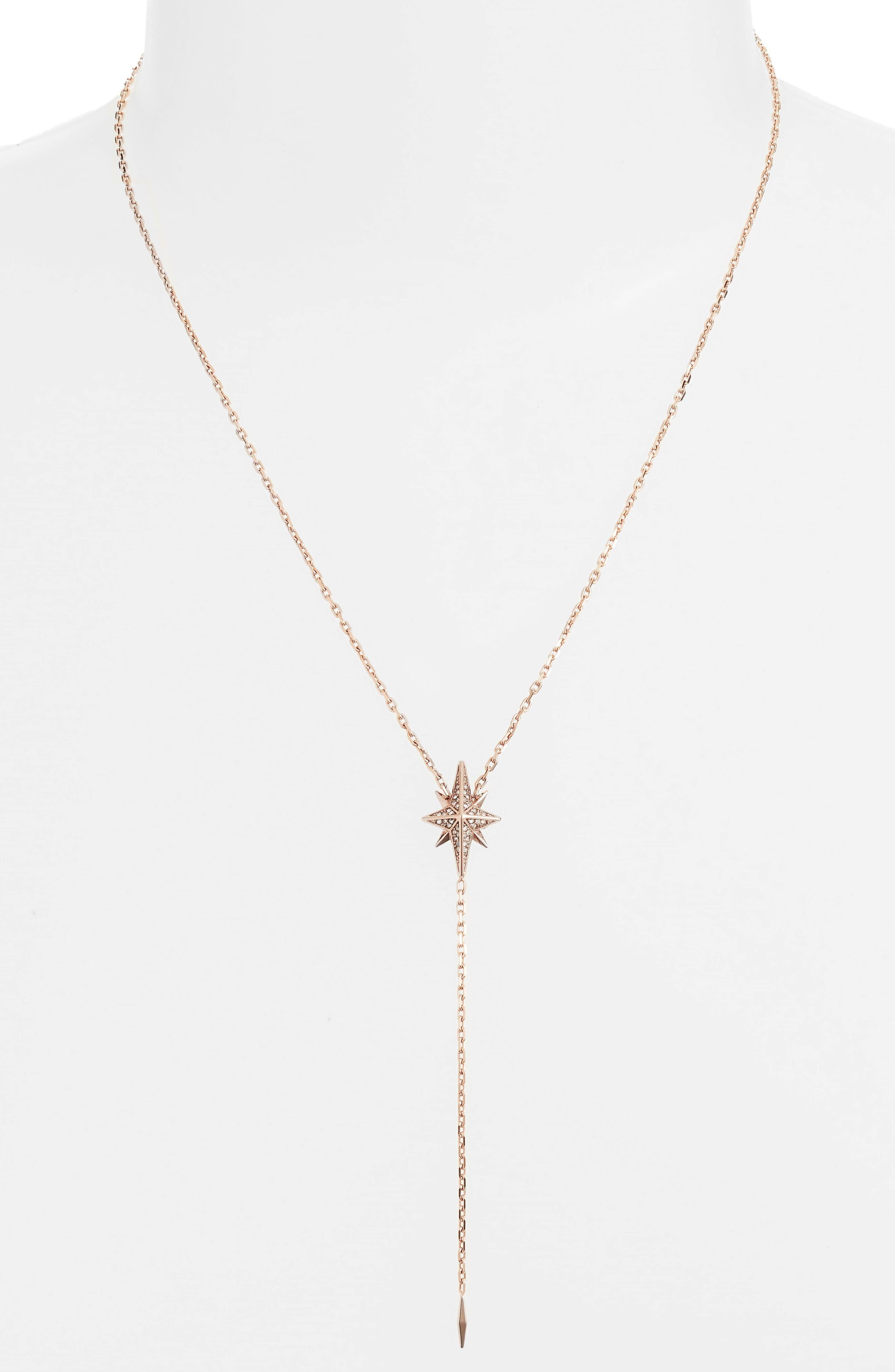 Michael Kors Crystal Y-Necklace