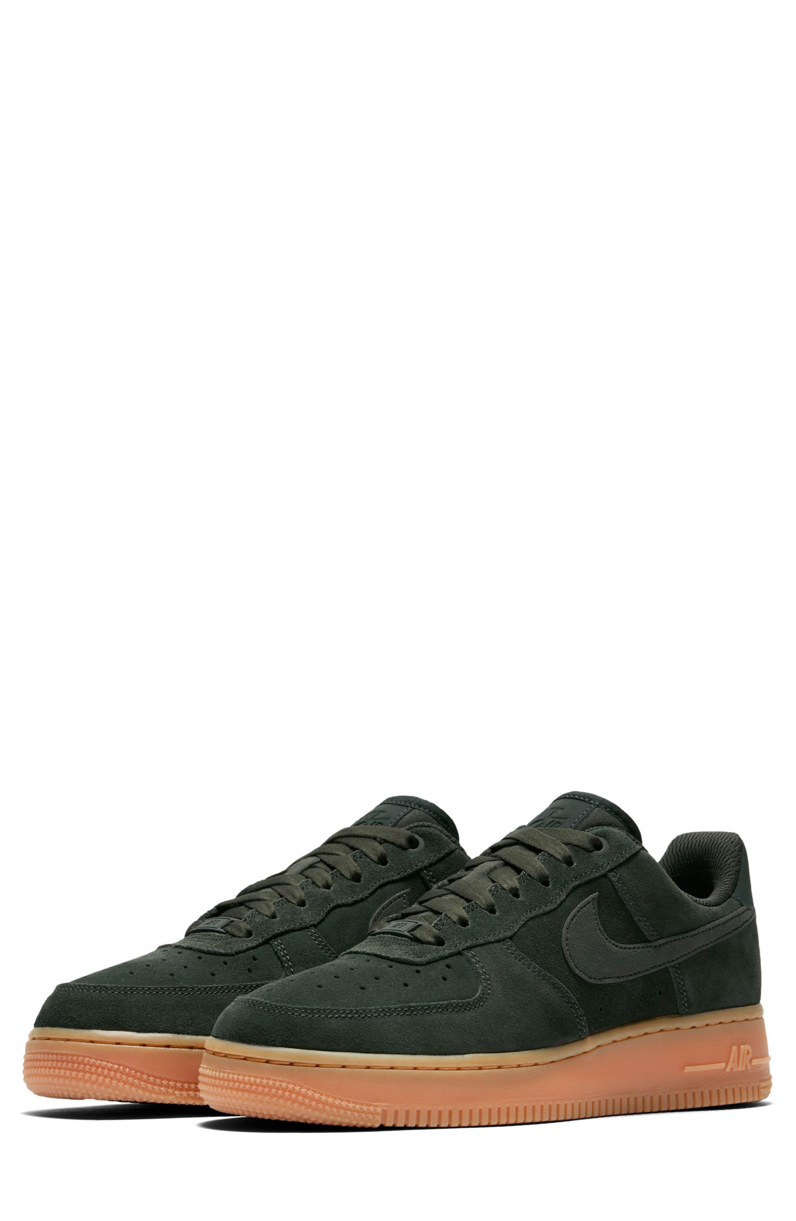 Air Force 1 '07 SE Sneaker,                             Main thumbnail 1, color,                             Outdoor Green/ Outdoor Green