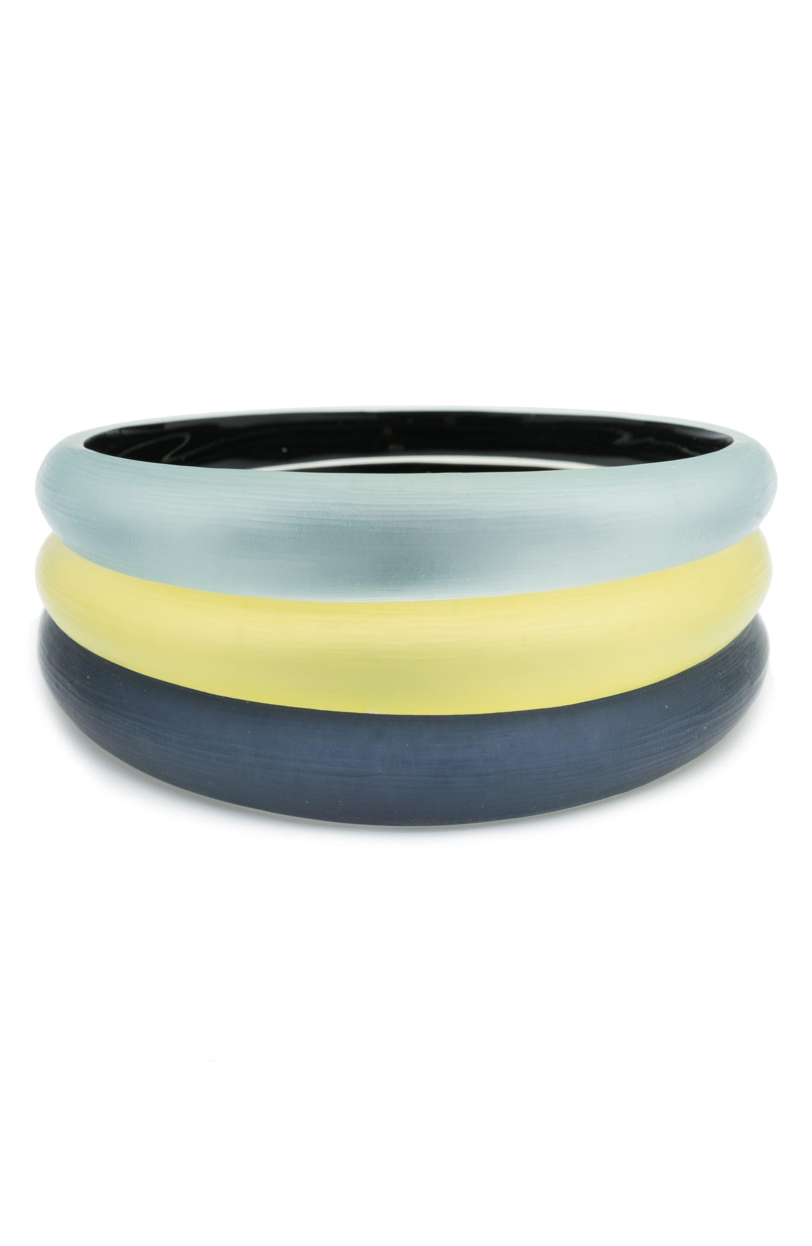 Alex Bittar Set of 3 Tapered Lucite® Bangle Bracelets