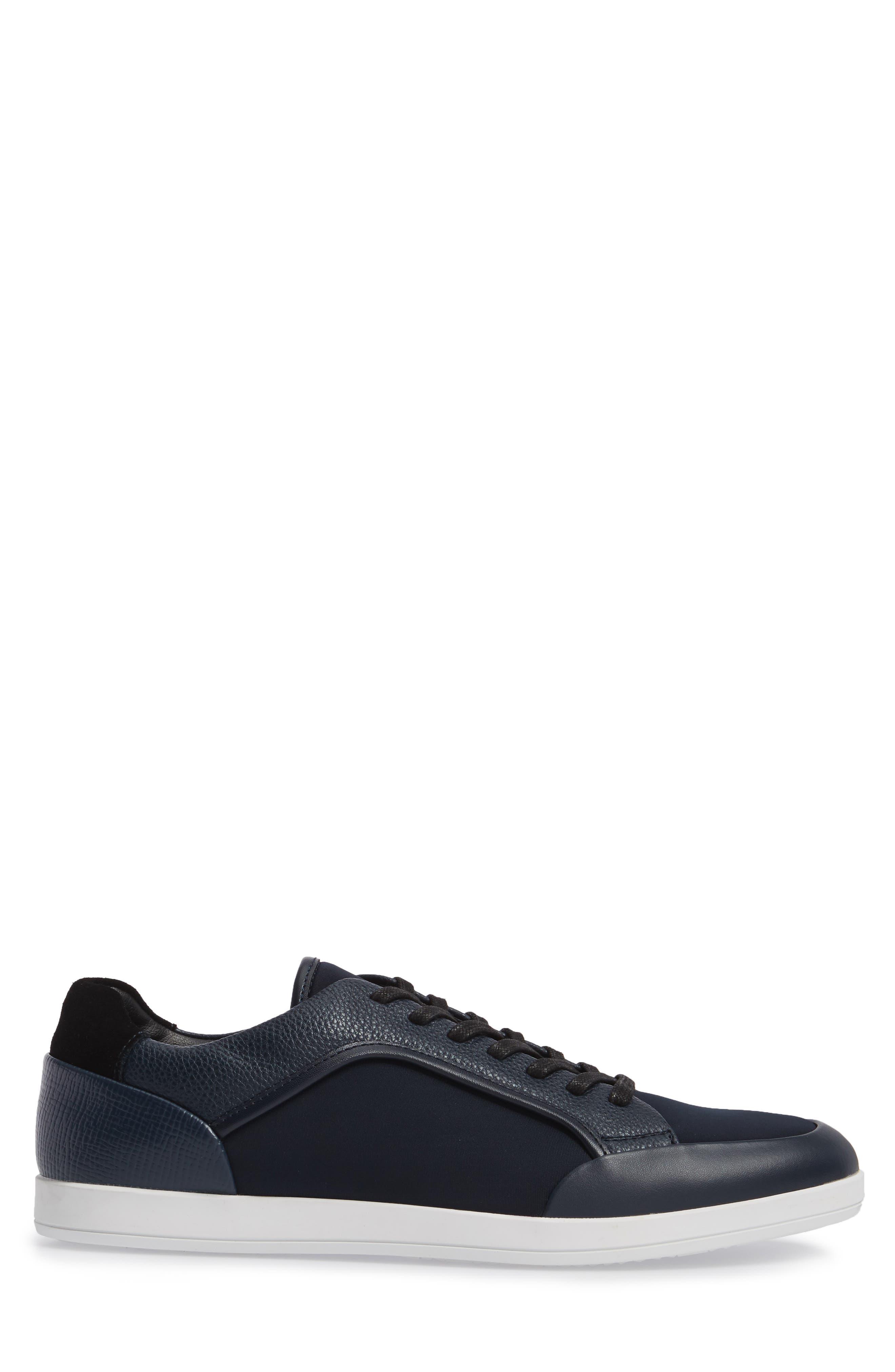Masen Sneaker,                             Alternate thumbnail 3, color,                             Dark Navy Lyrcra