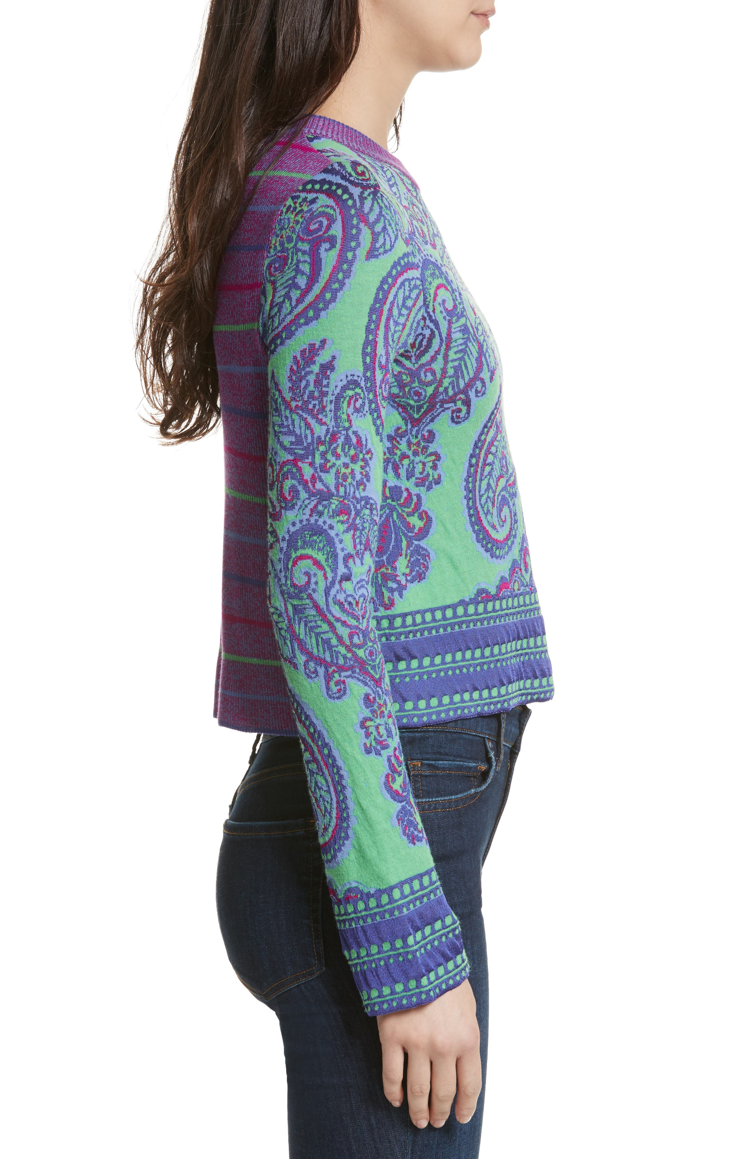 Alternate Image 3  - Free People New Age Crewneck Sweater