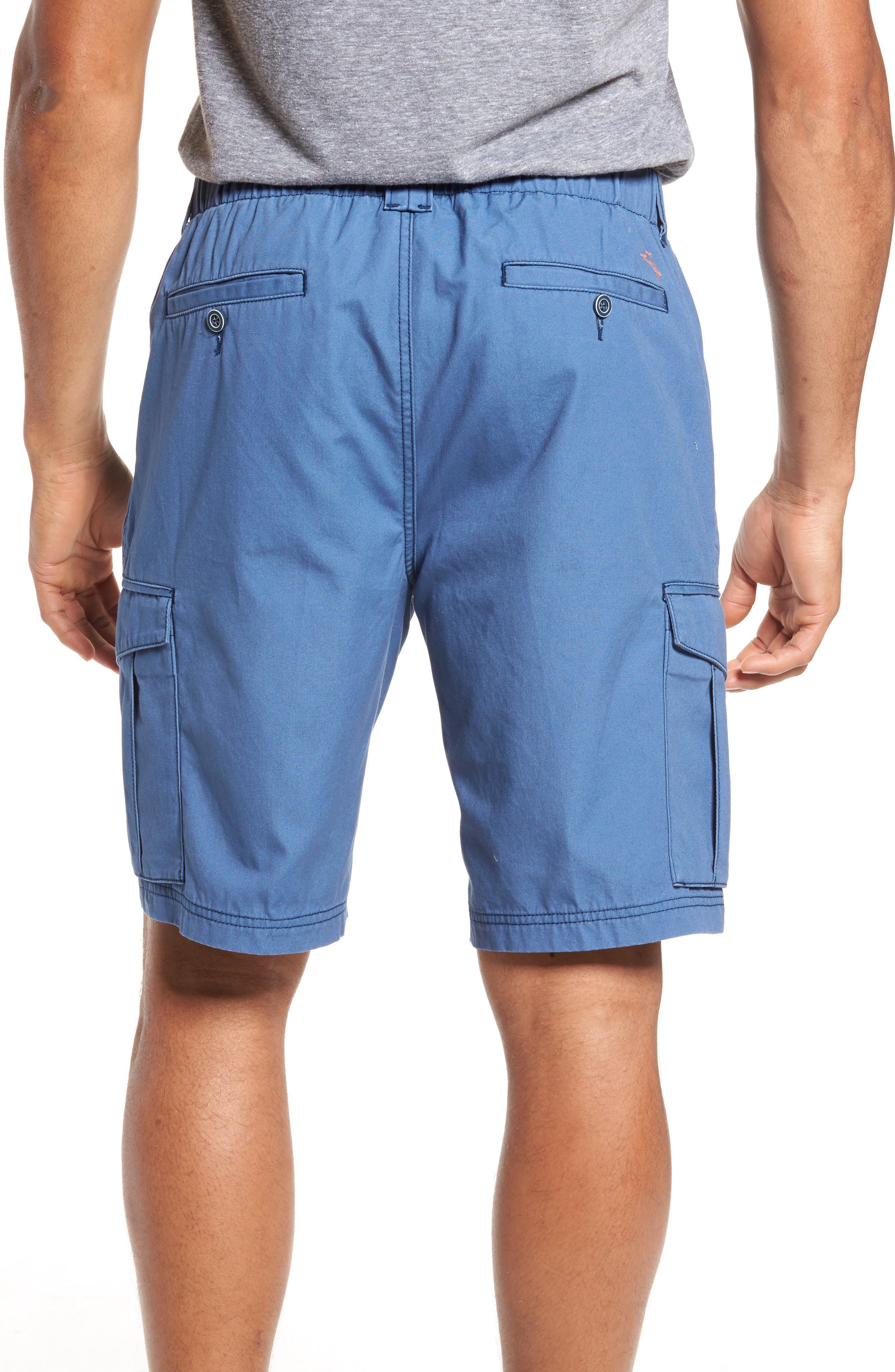 Island Survivalist Cargo Shorts,                             Alternate thumbnail 2, color,                             Dockside Blue
