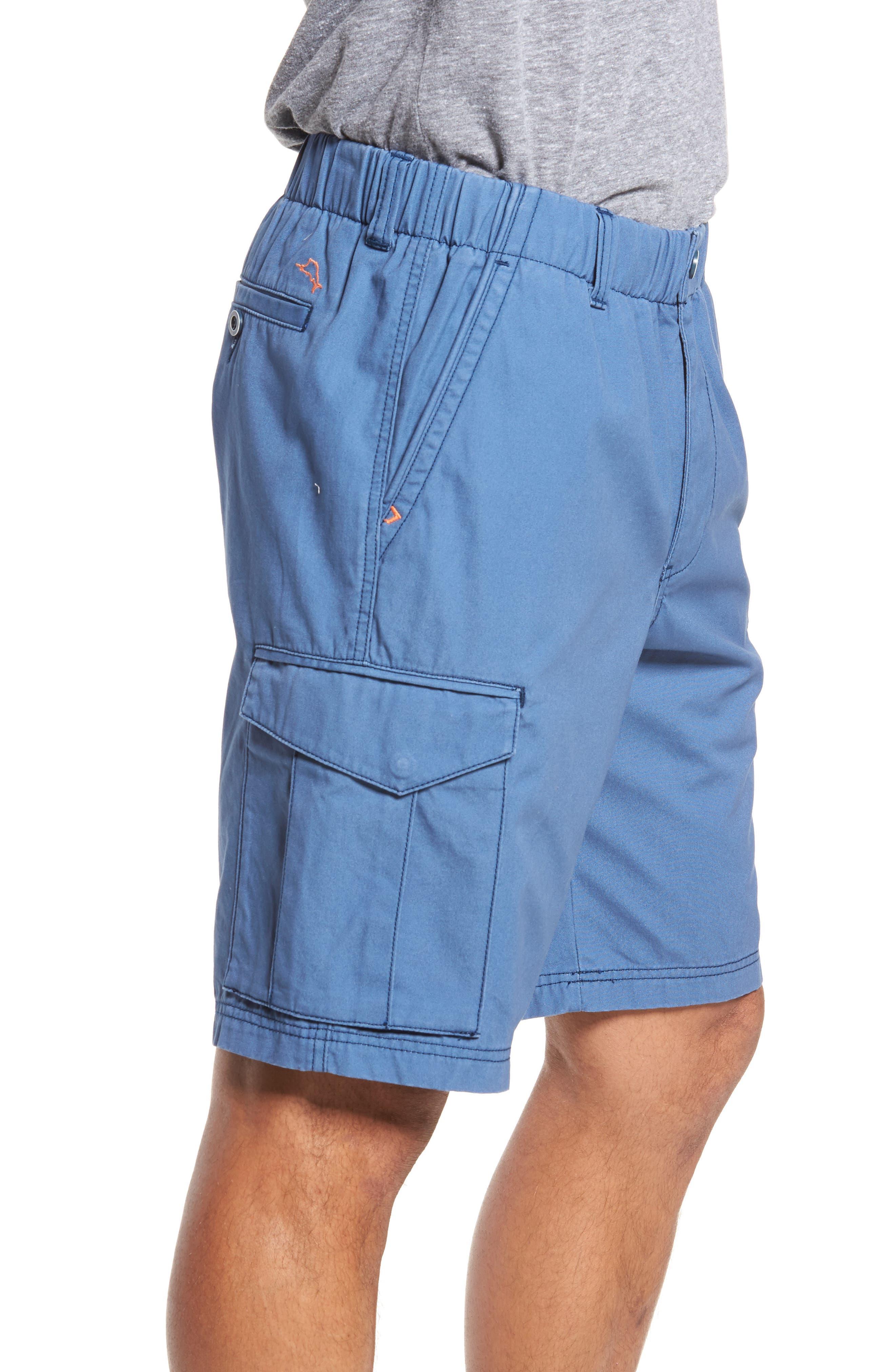 Island Survivalist Cargo Shorts,                             Alternate thumbnail 3, color,                             Dockside Blue