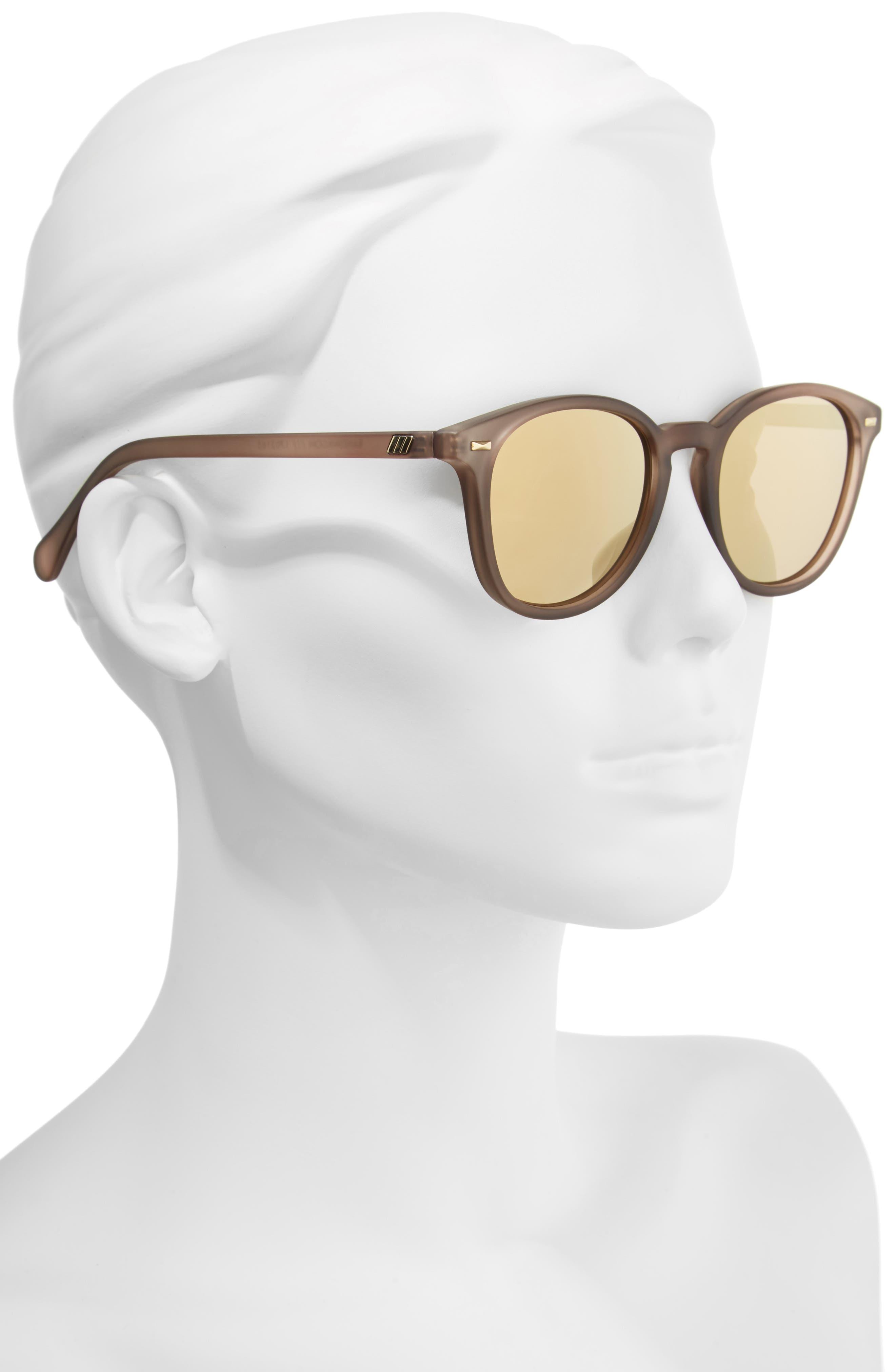Alternate Image 3  - Le Specs x Lumira Bandwagon 51mm Sunglasses & Candle Gift Set