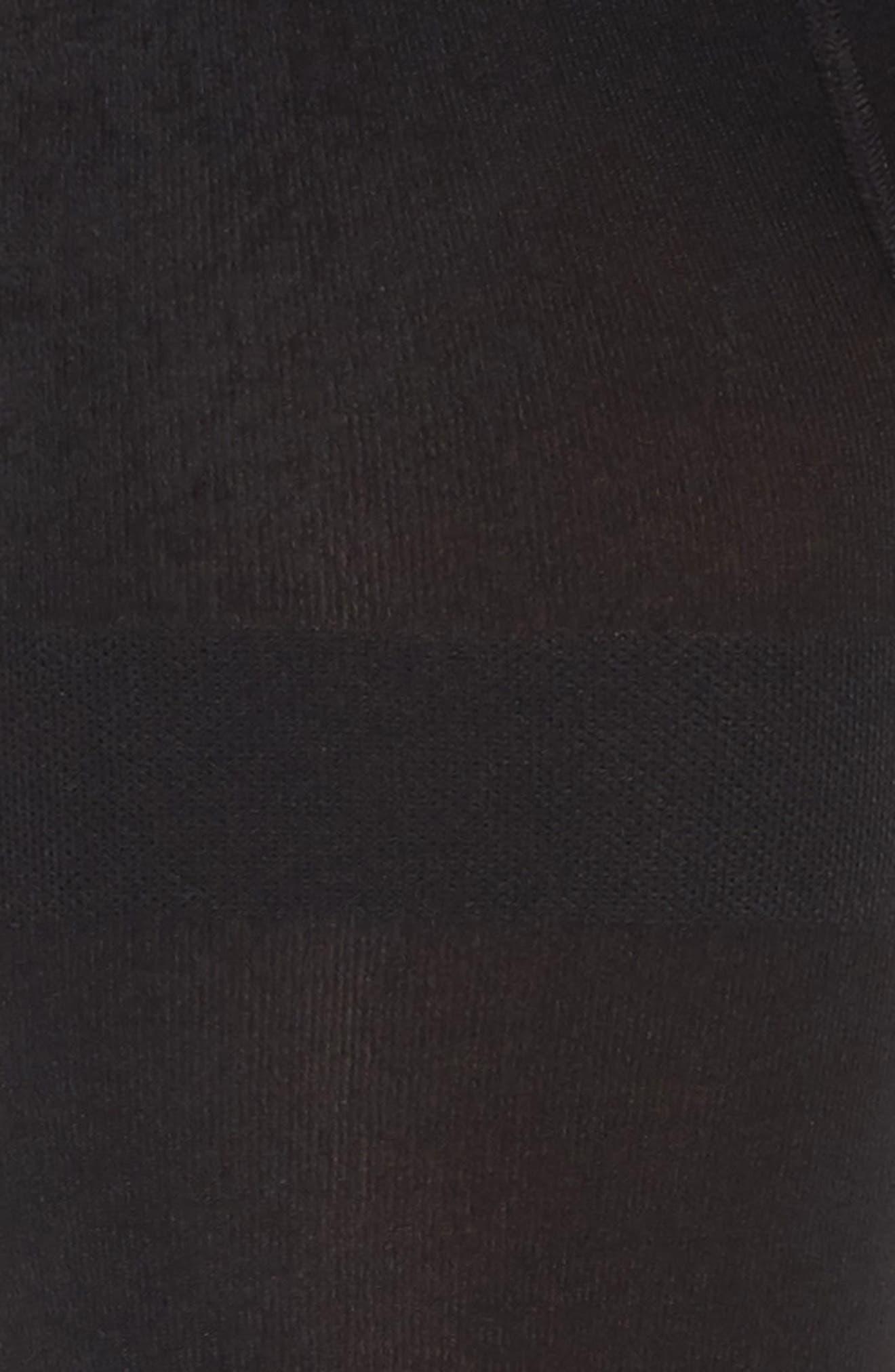 Alternate Image 2  - Nordstrom Fleece Lined Tights