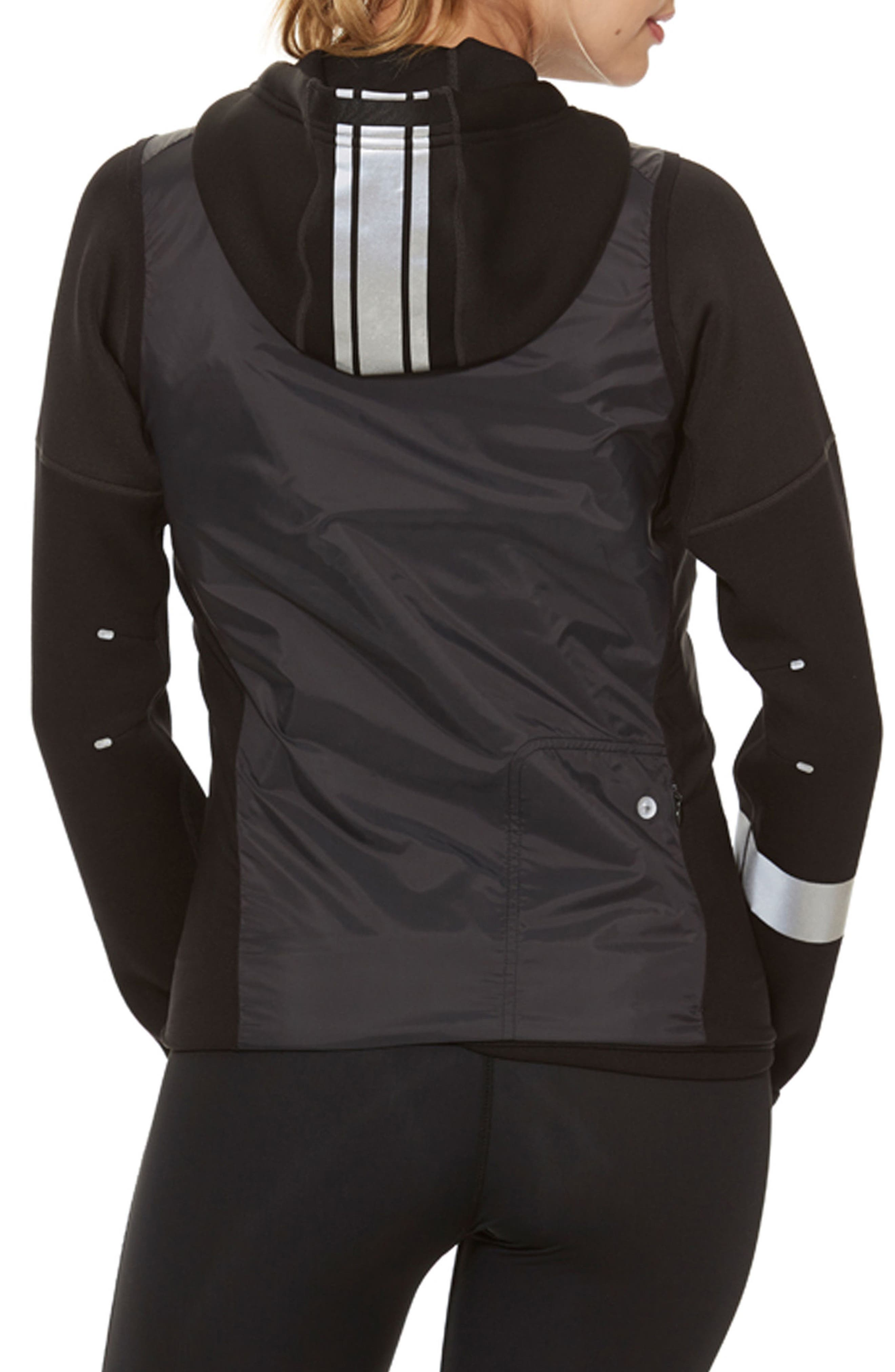 Brecon Beacons Water-Resistant & Windproof Insulated 2-in-1 Jacket,                             Alternate thumbnail 2, color,                             Black