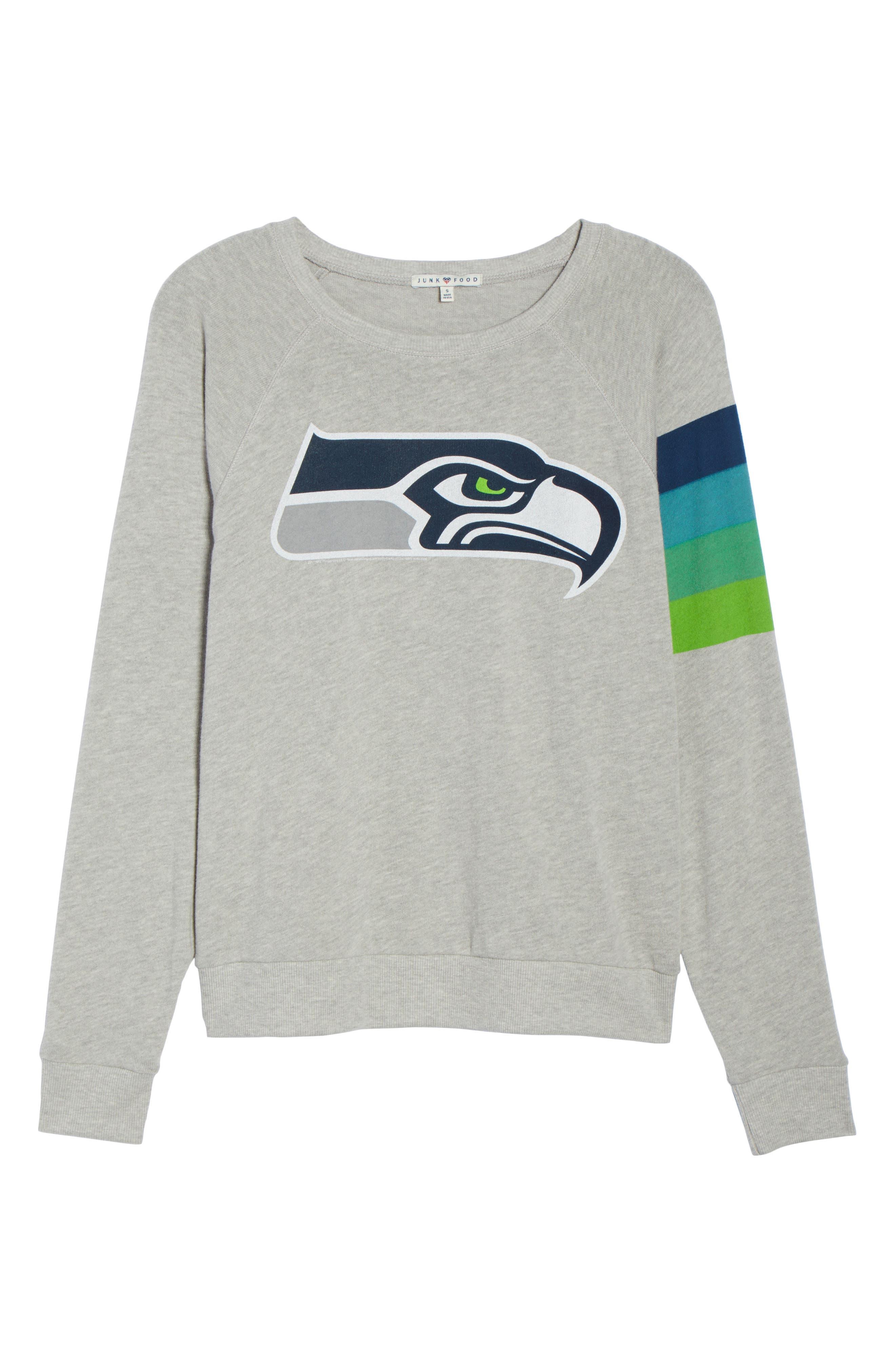 Alternate Image 7  - Junk Food NFL Seattle Seahawks Hacci Sweatshirt (Nordstrom Exclusive)