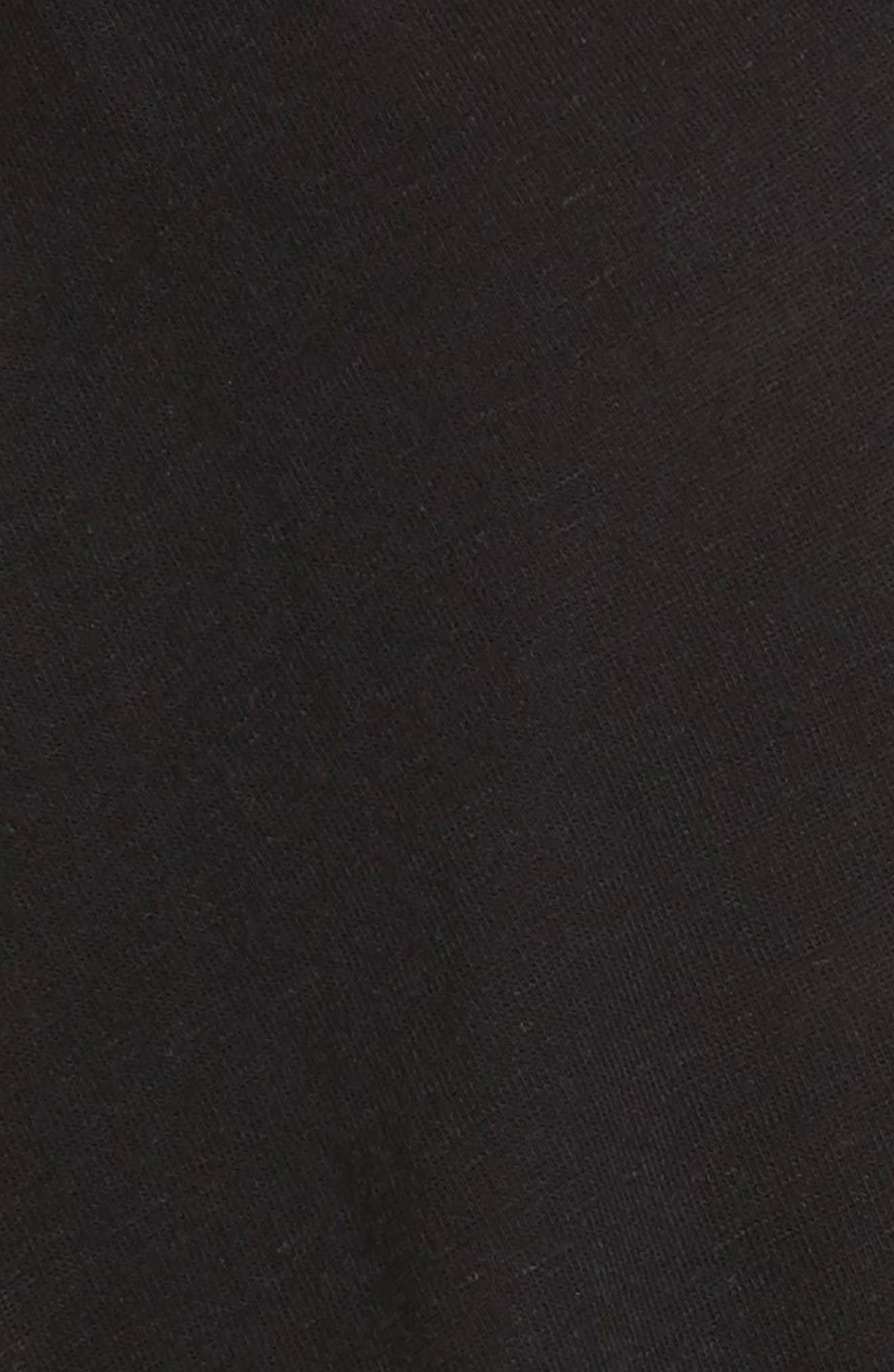 Just a Henley Top,                             Alternate thumbnail 6, color,                             Black