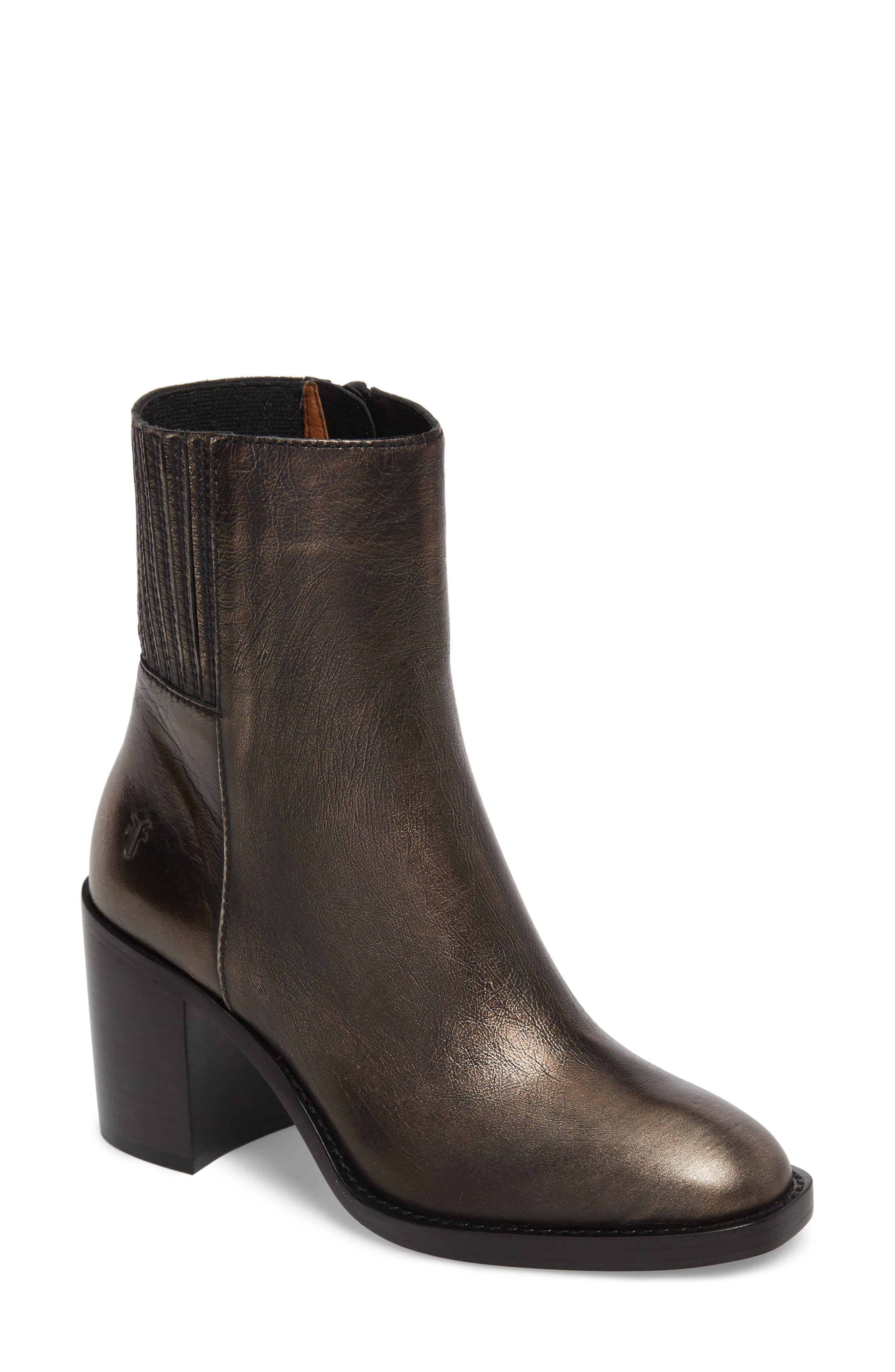 Pia Boot,                         Main,                         color, Bronze Leather