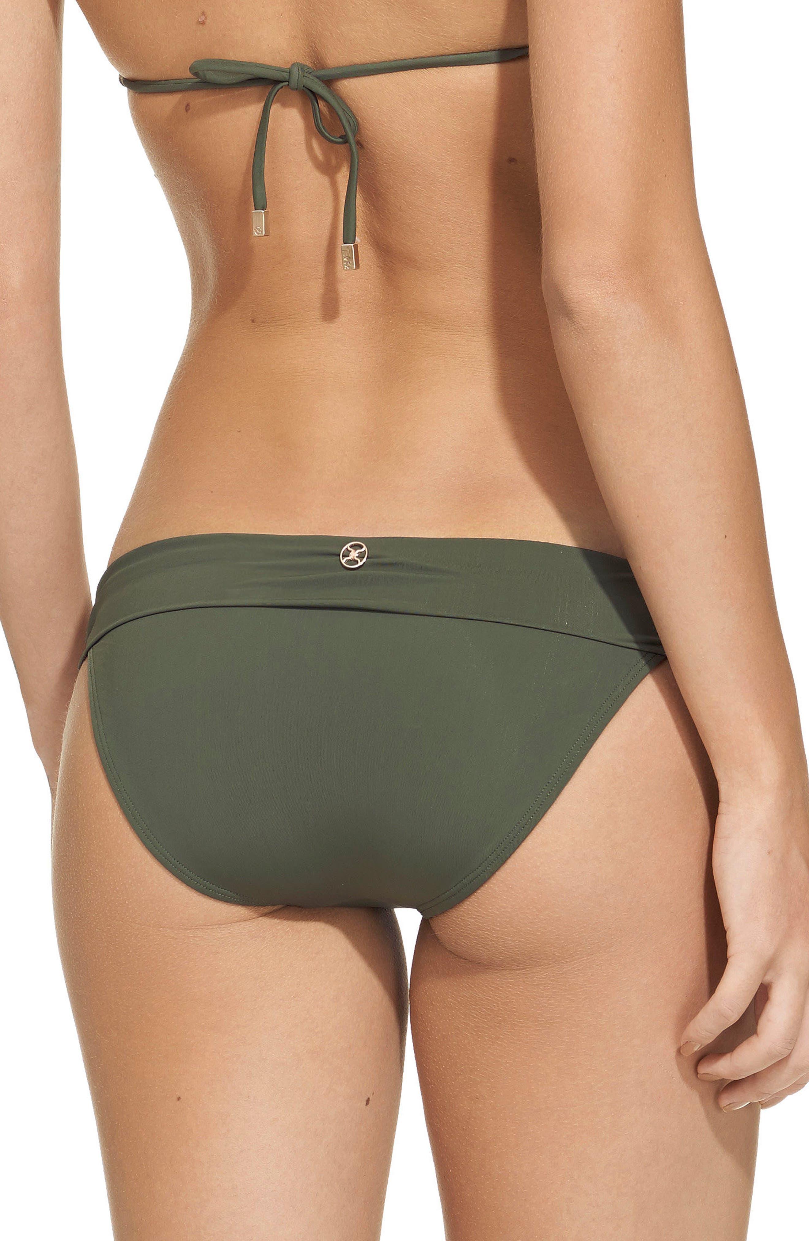 Bia Bikini Bottoms,                             Alternate thumbnail 2, color,                             Military