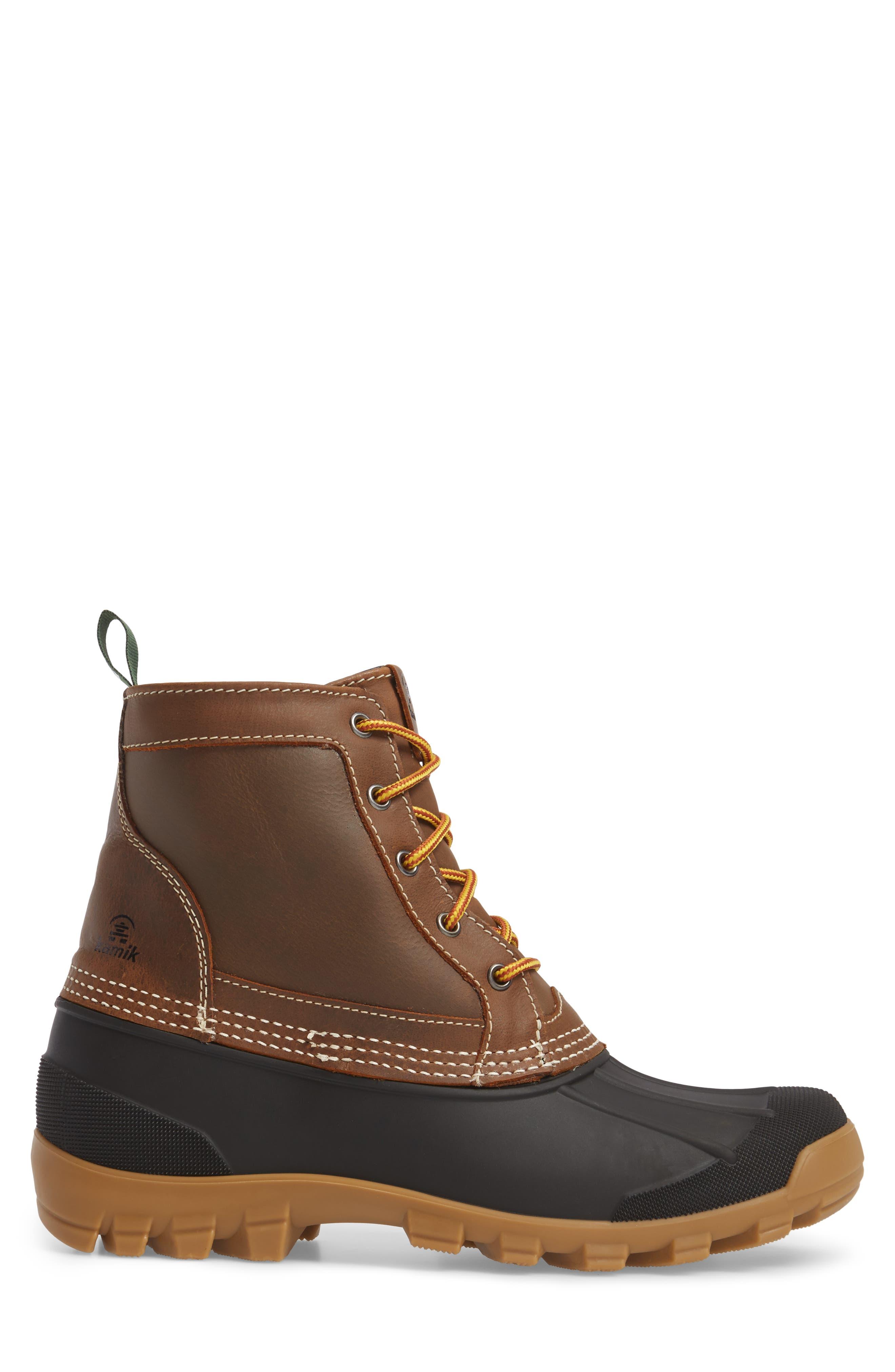 Alternate Image 3  - Kamik Yukon 5 Waterproof Insulated Three-Season Boot (Men)
