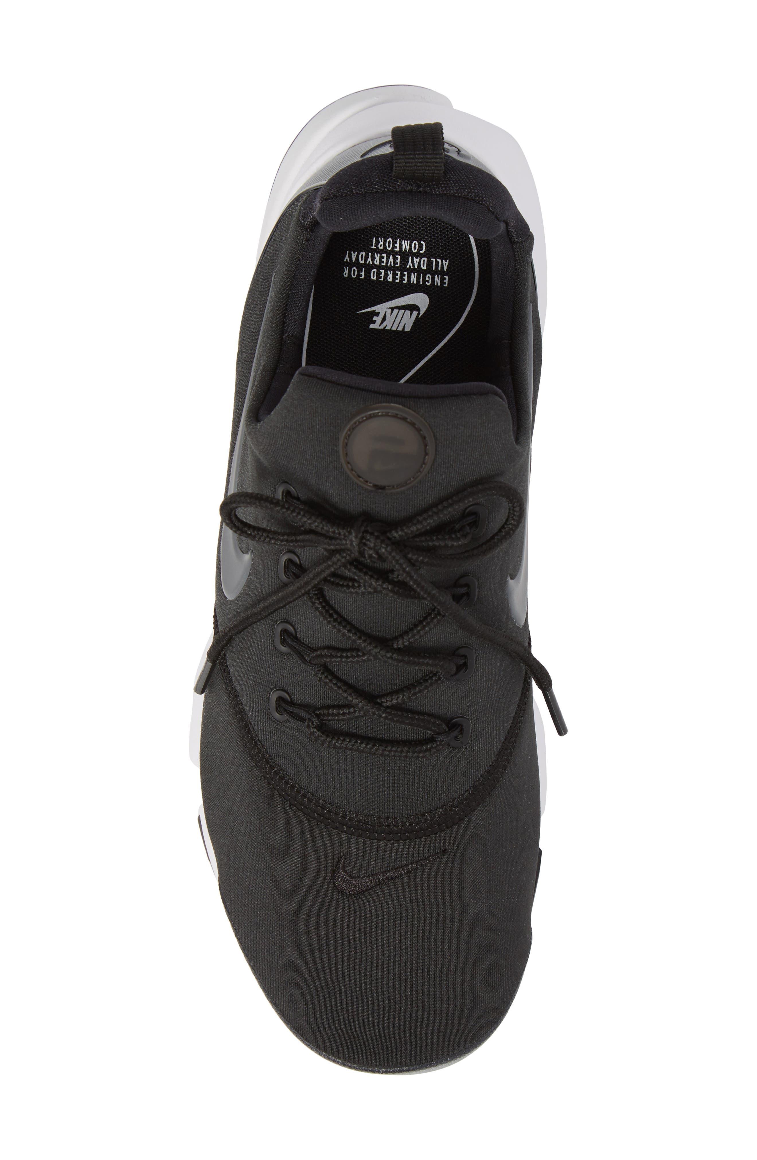 Presto Ultra SE Sneaker,                             Alternate thumbnail 4, color,                             Black/ Grey/ White