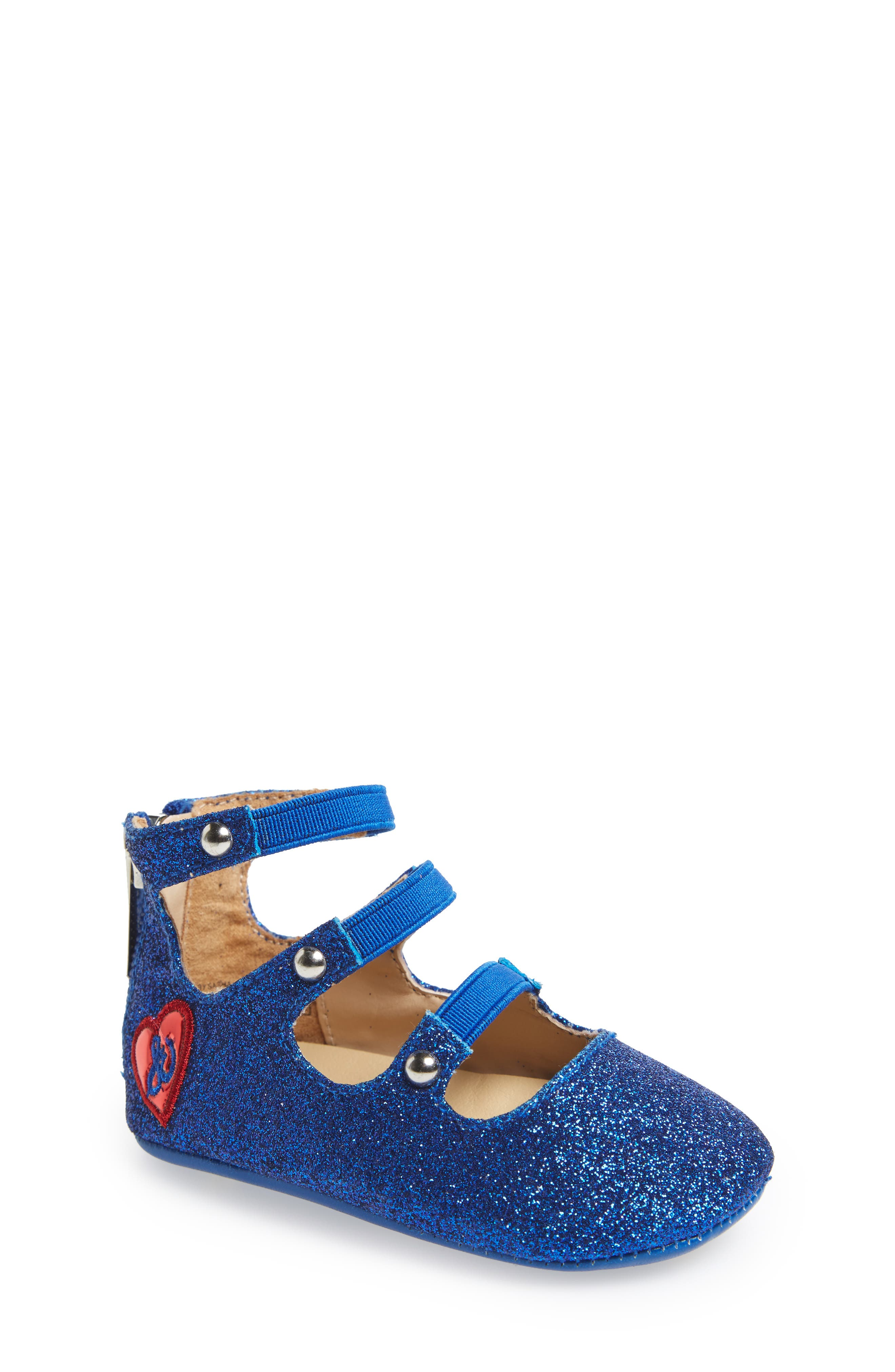 Sam Edelman Baby Sasha Sparkly Crib Shoe (Baby)