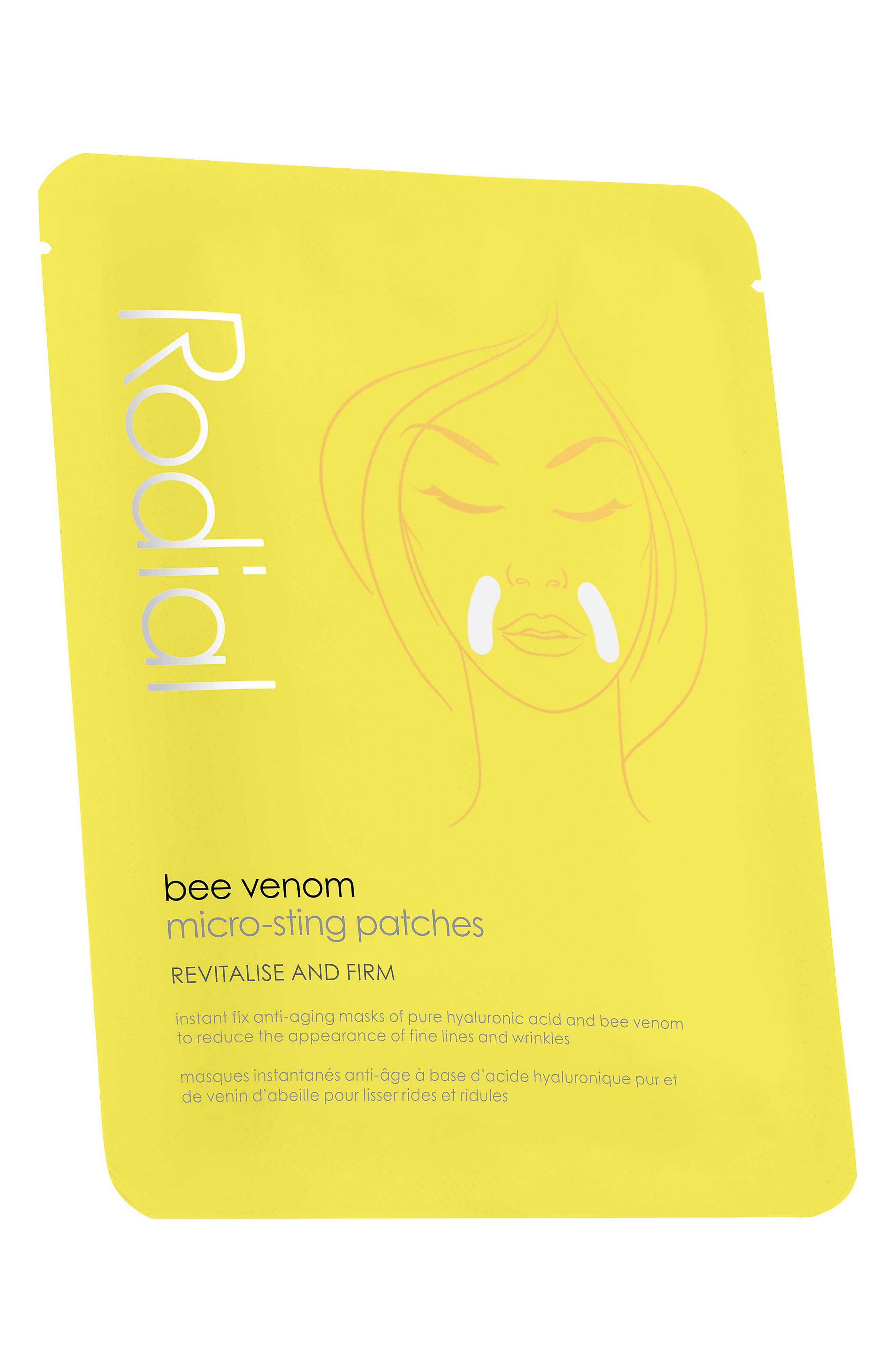 SPACE.NK.apothecary Rodial Bee Venom Micro-Sting Patch,                             Main thumbnail 1, color,                             No Color