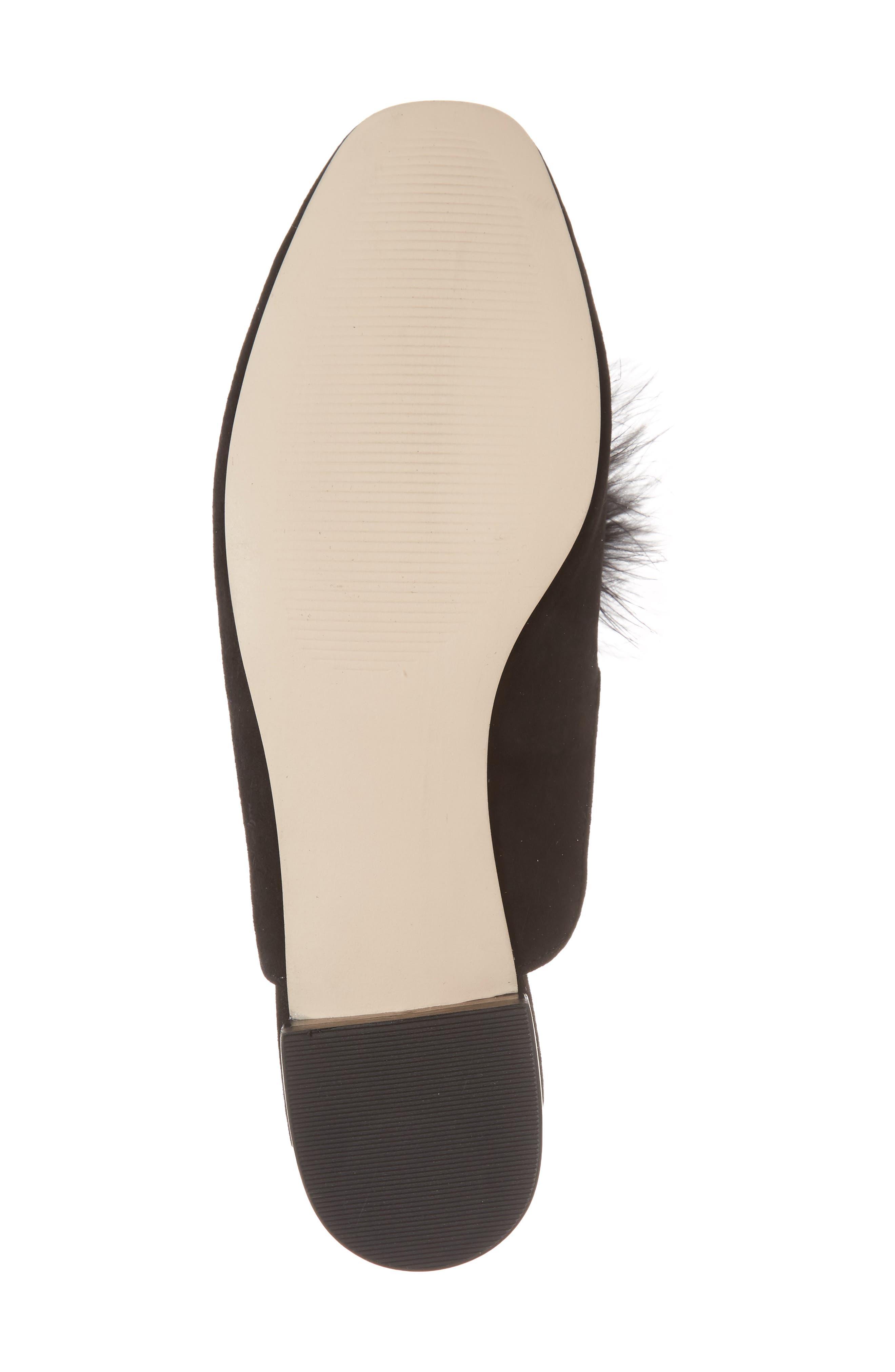 Alternate Image 6  - Sole Society Cleona Feather Pompom Mule (Women)