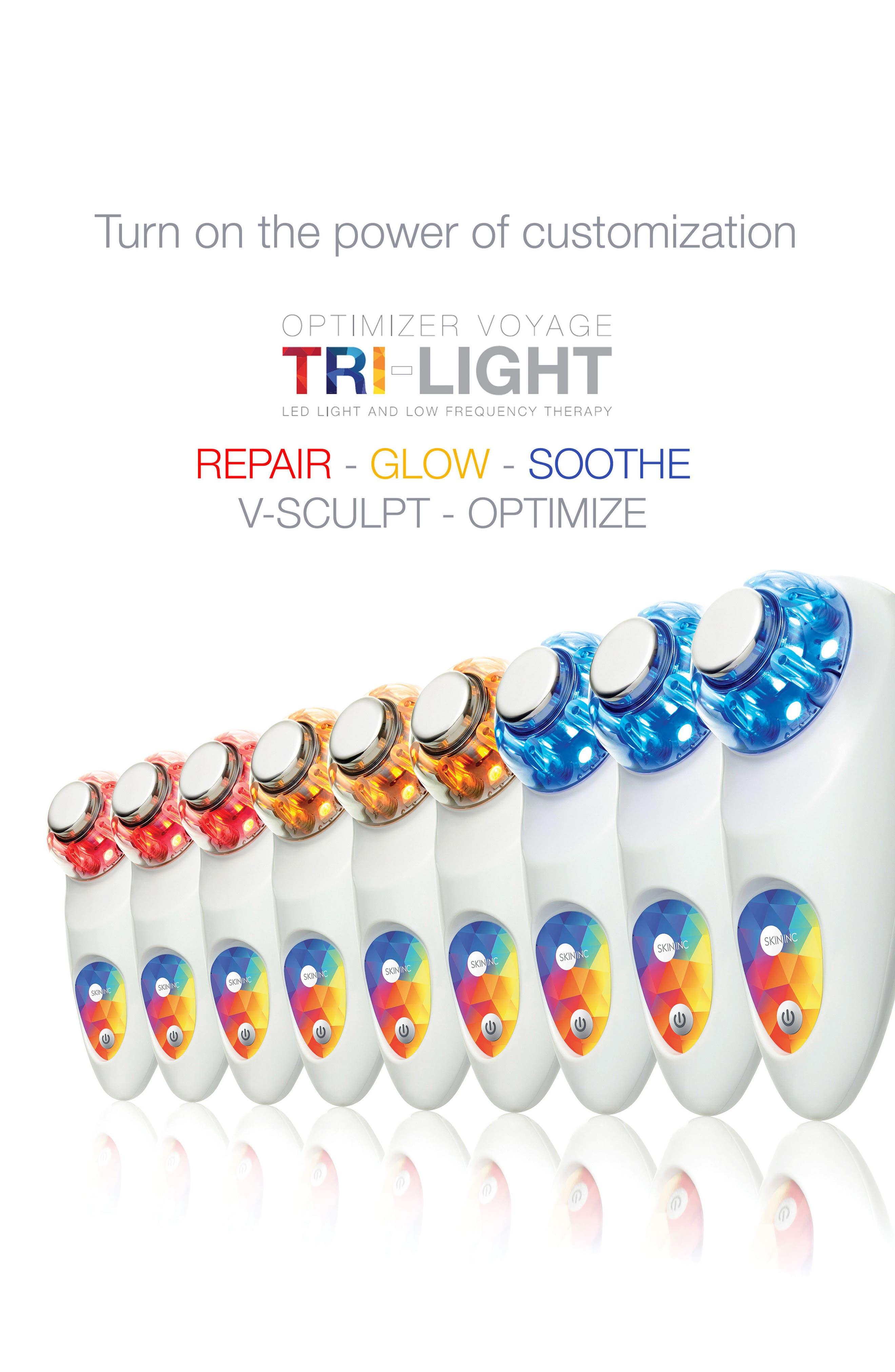 Alternate Image 5  - Skin Inc. Optimizer Voyage Tri-Light