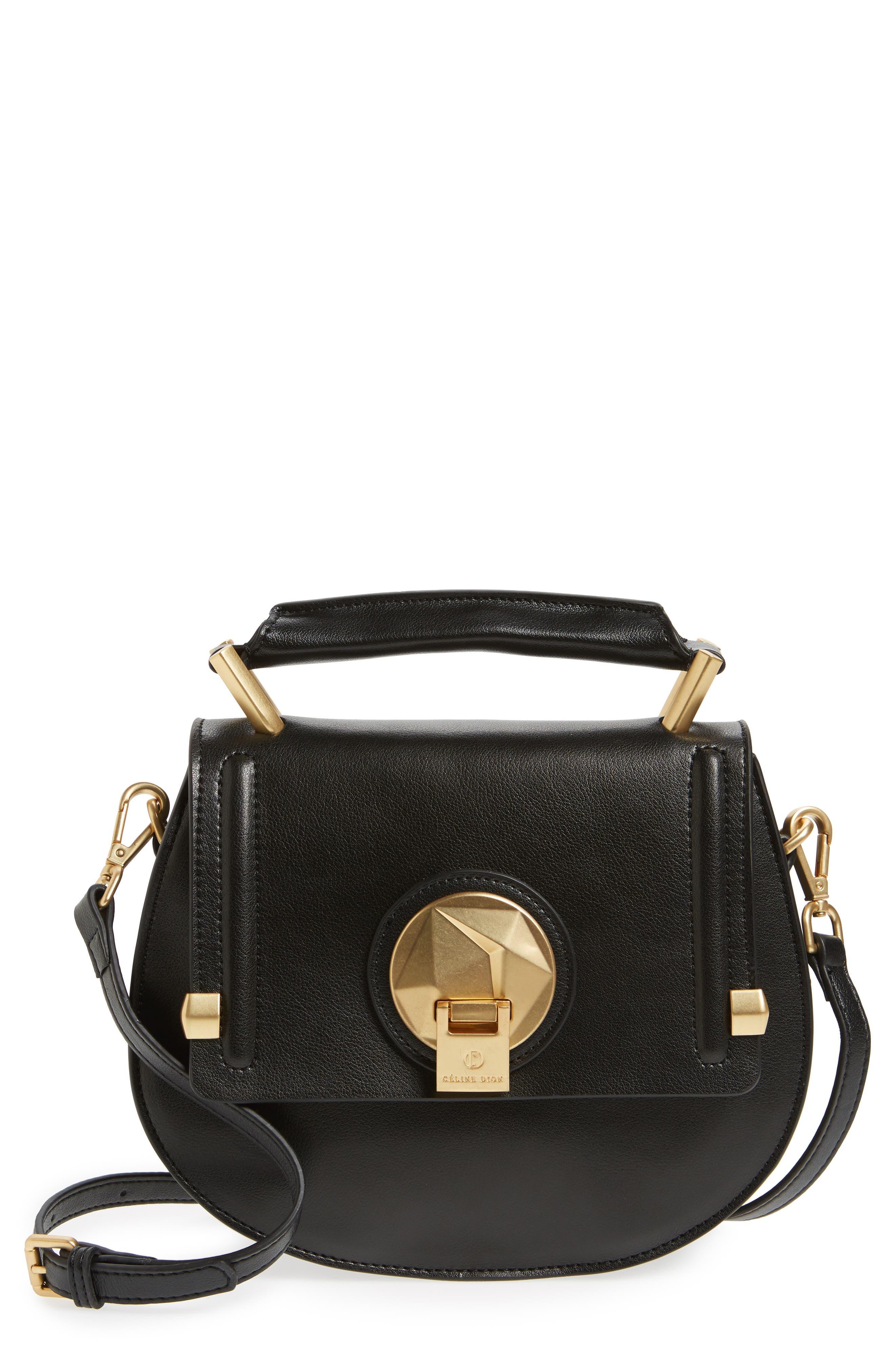 Alternate Image 1 Selected - Céline Dion Octave Leather Top Handle Satchel