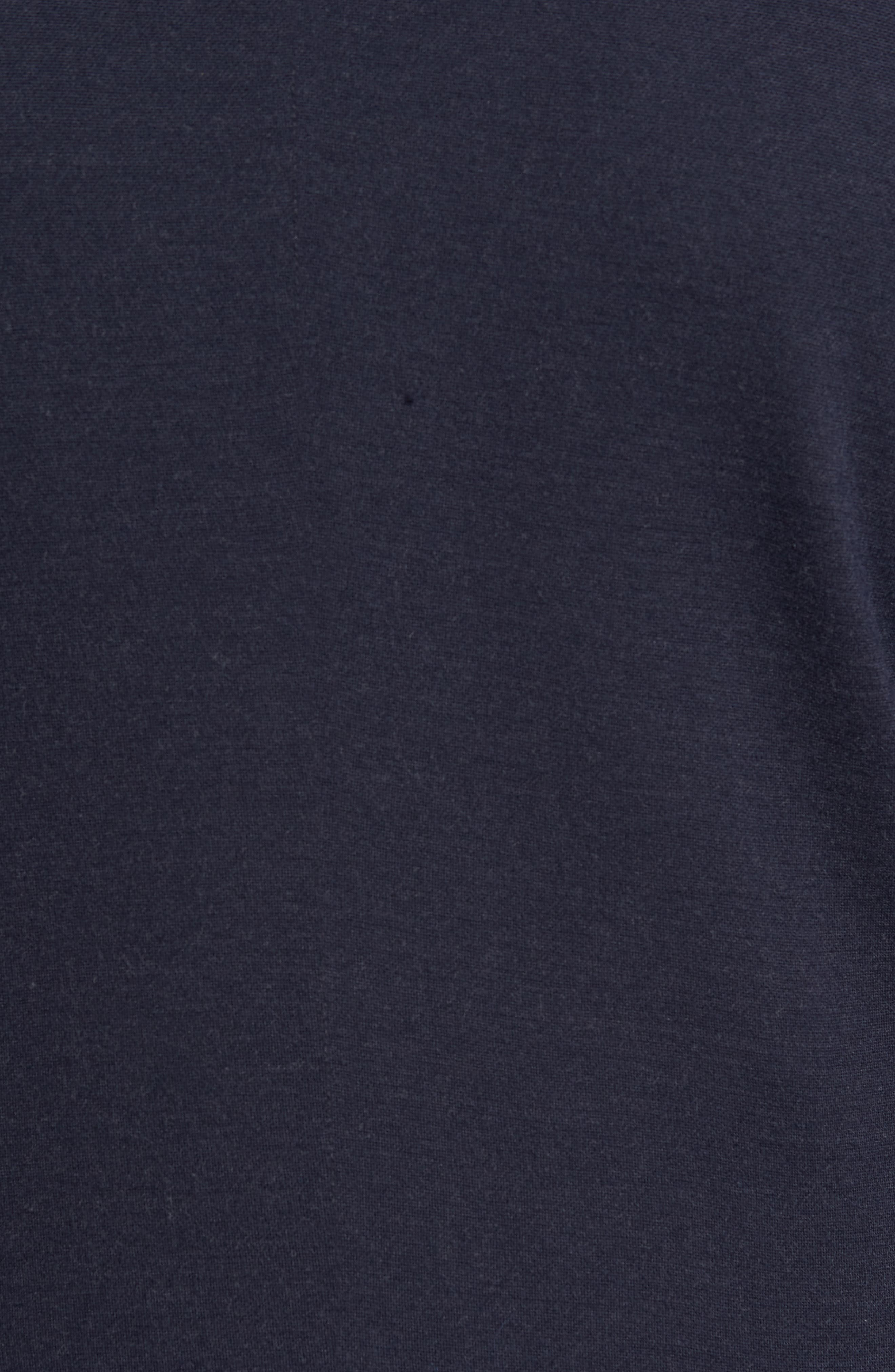 Stand Collar Blazer,                             Alternate thumbnail 5, color,                             Navy