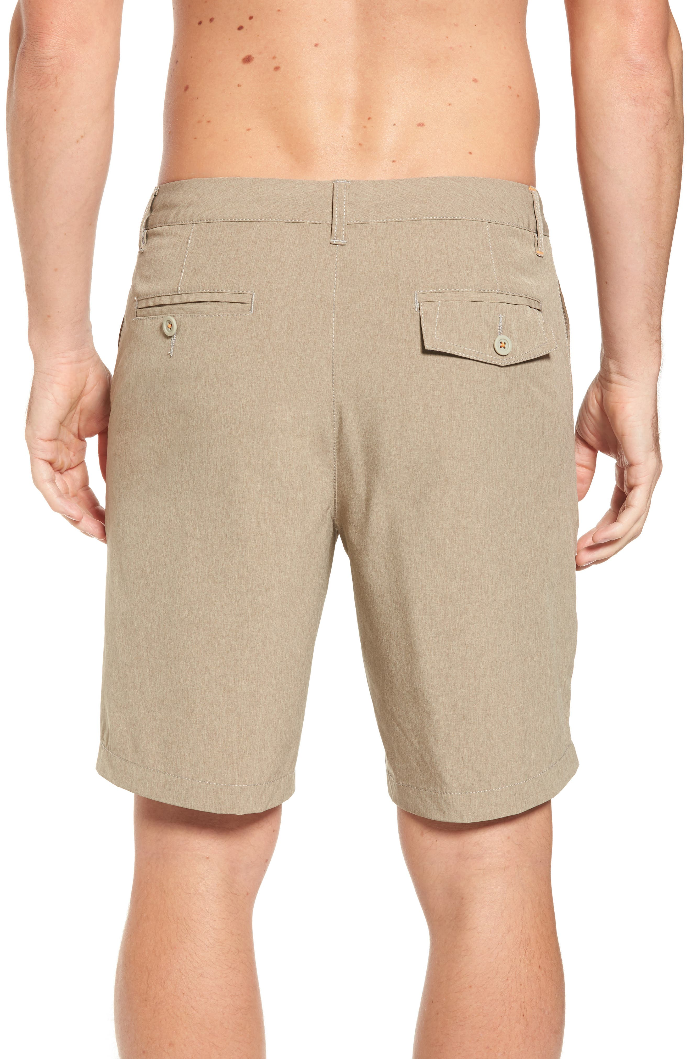 'Cayman Isles' Hybrid Swim Shorts,                             Alternate thumbnail 2, color,                             Dark Twill