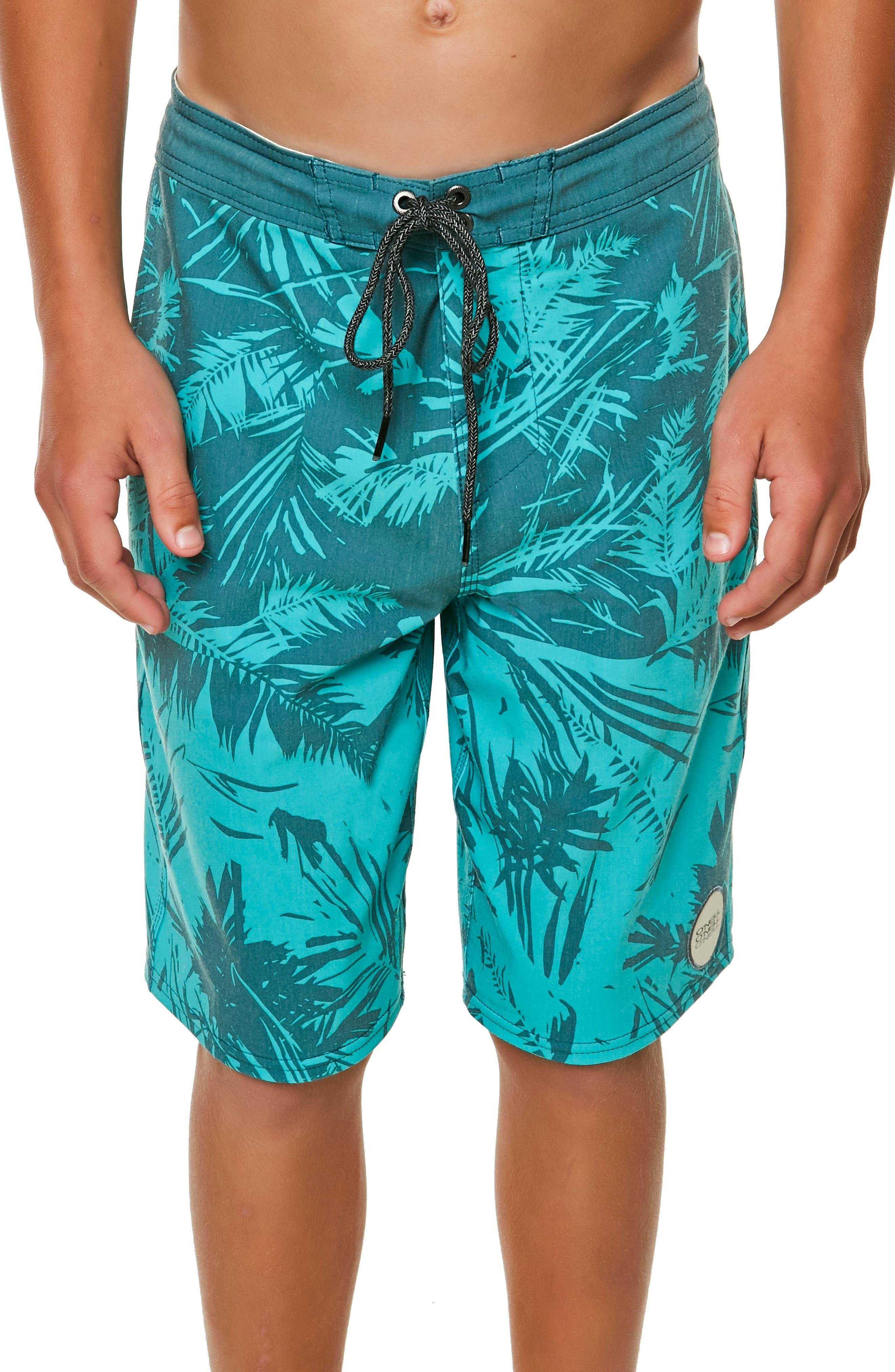 Inverted Cruzer Board Shorts,                         Main,                         color, Aqua
