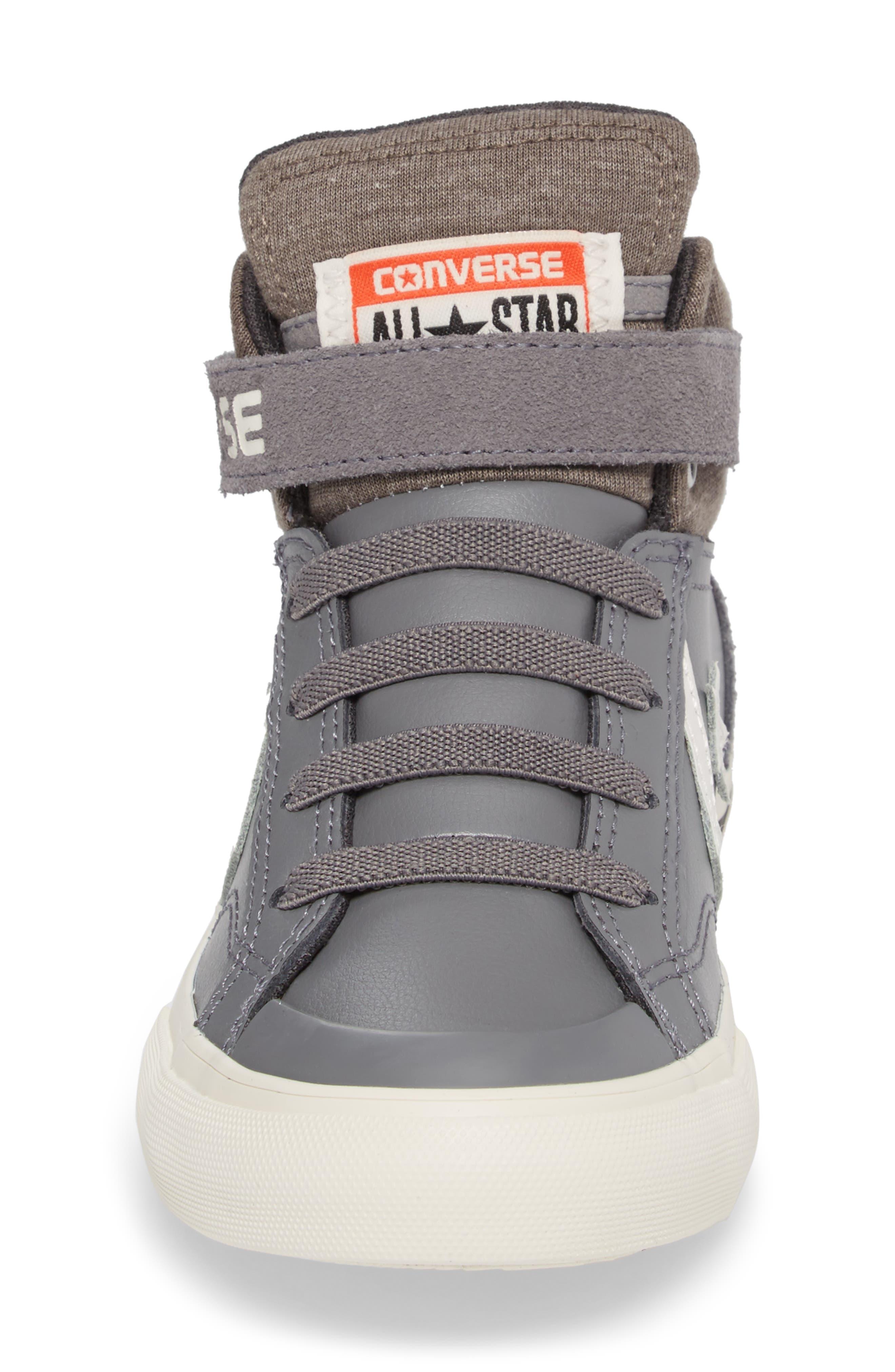 Pro Blaze High Top Sneaker,                             Alternate thumbnail 4, color,                             Mason Leather