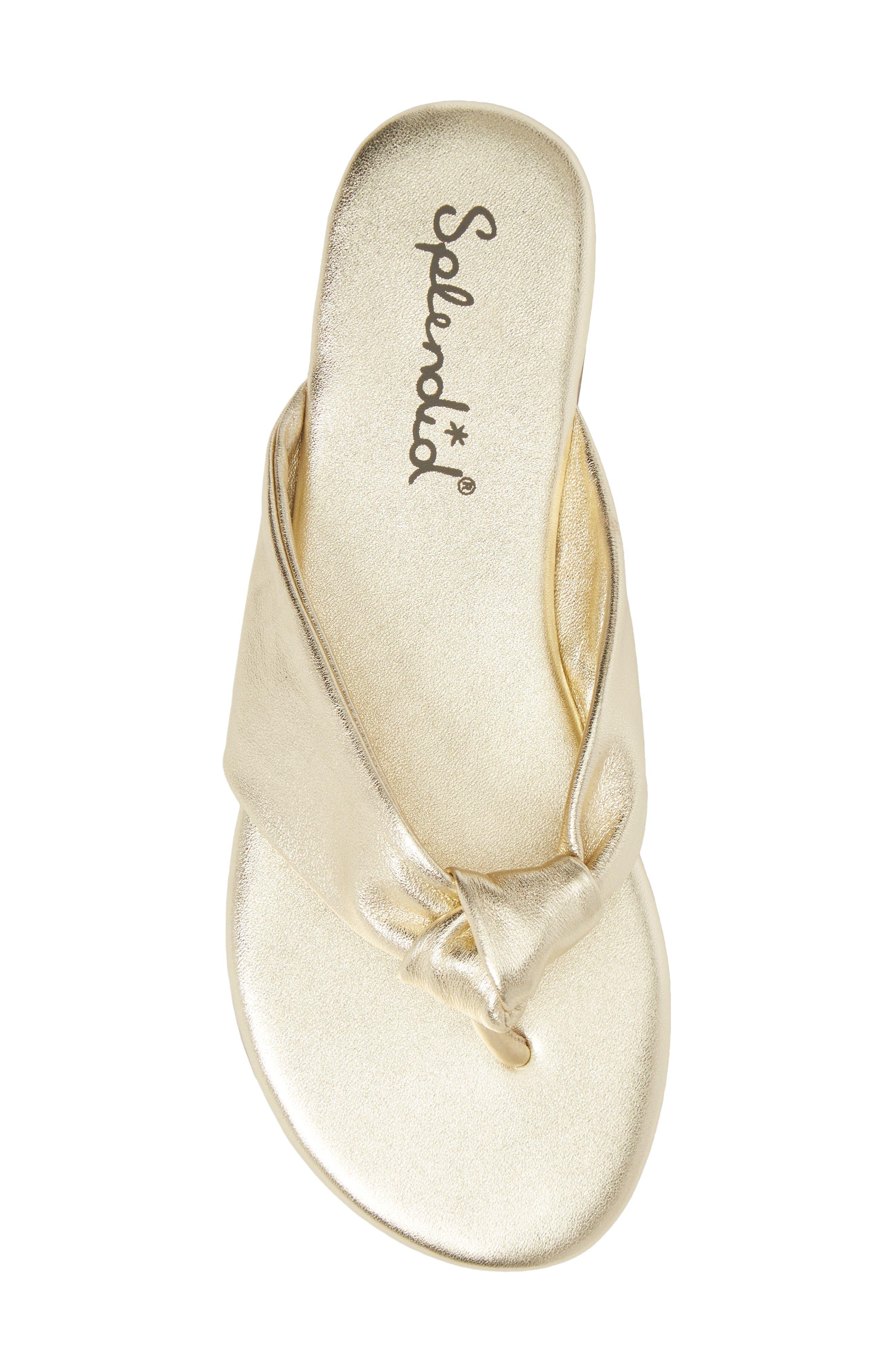 Alternate Image 5  - Splendid Bridgette Knotted Flip Flop (Women)