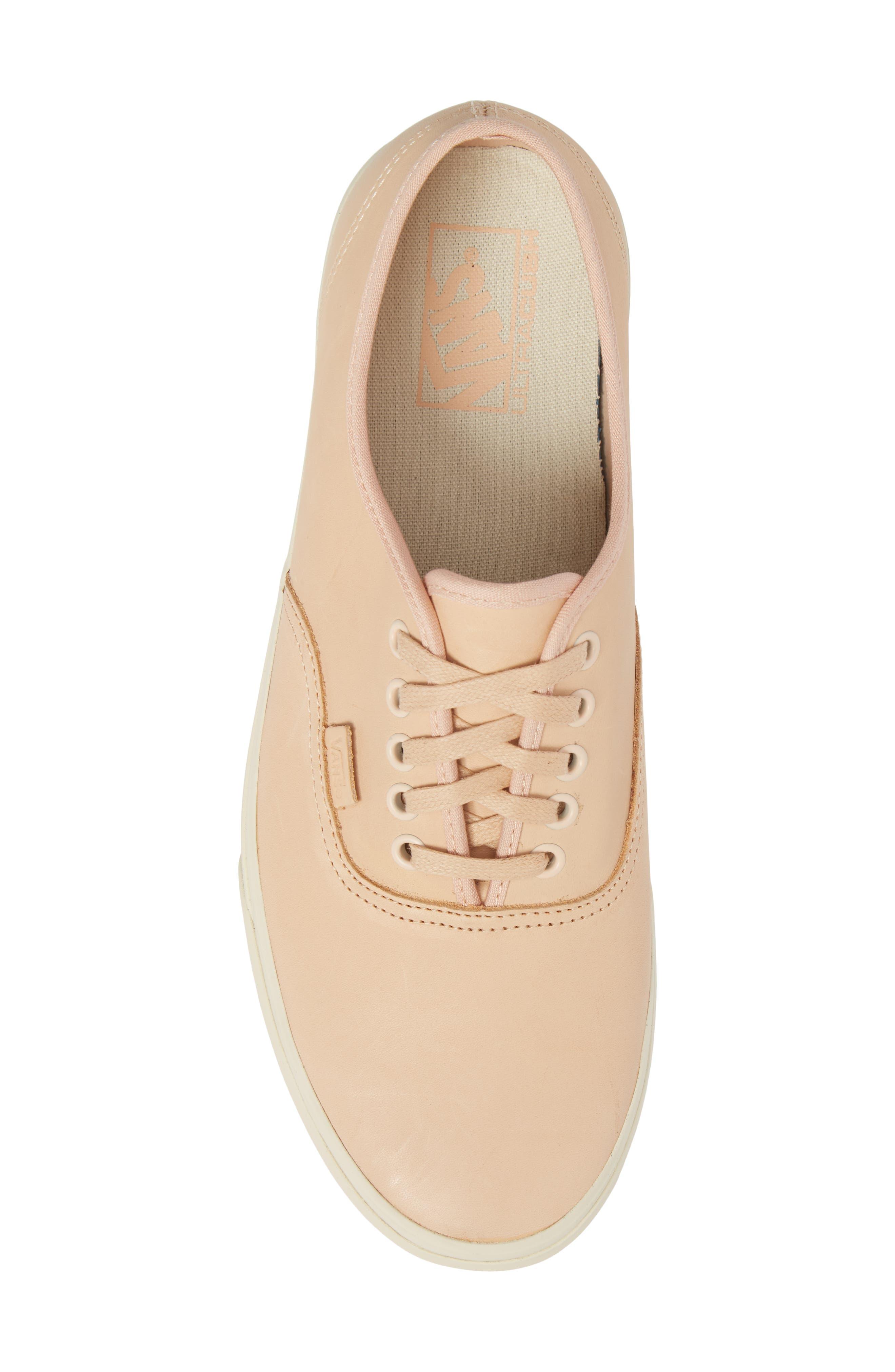 Authentic DX Sneaker,                             Alternate thumbnail 5, color,                             Veggie Tan Leather