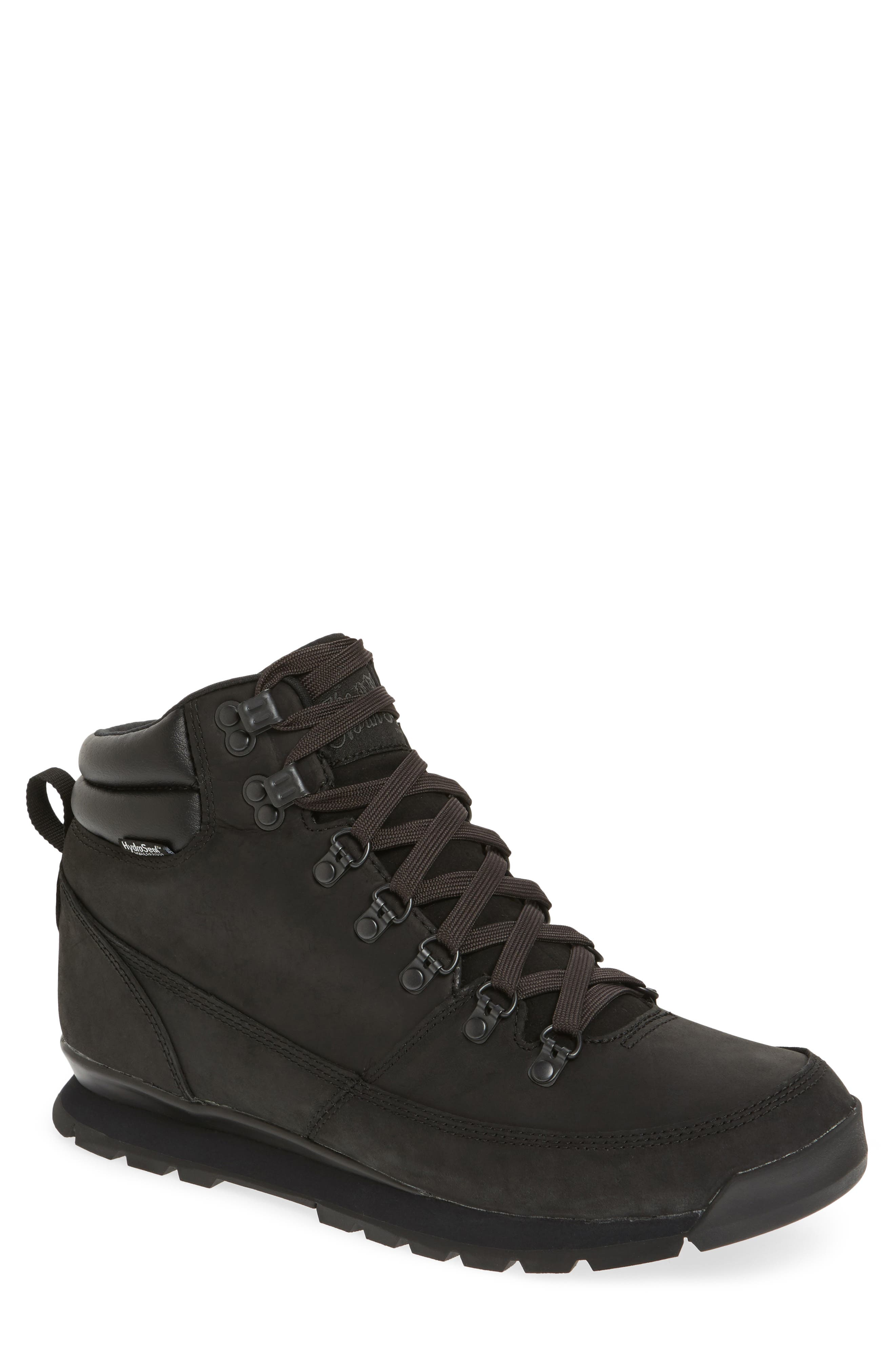 'Back to Berkeley Redux' Waterproof Boot,                             Main thumbnail 1, color,                             Tnf Black/ Tnf Black