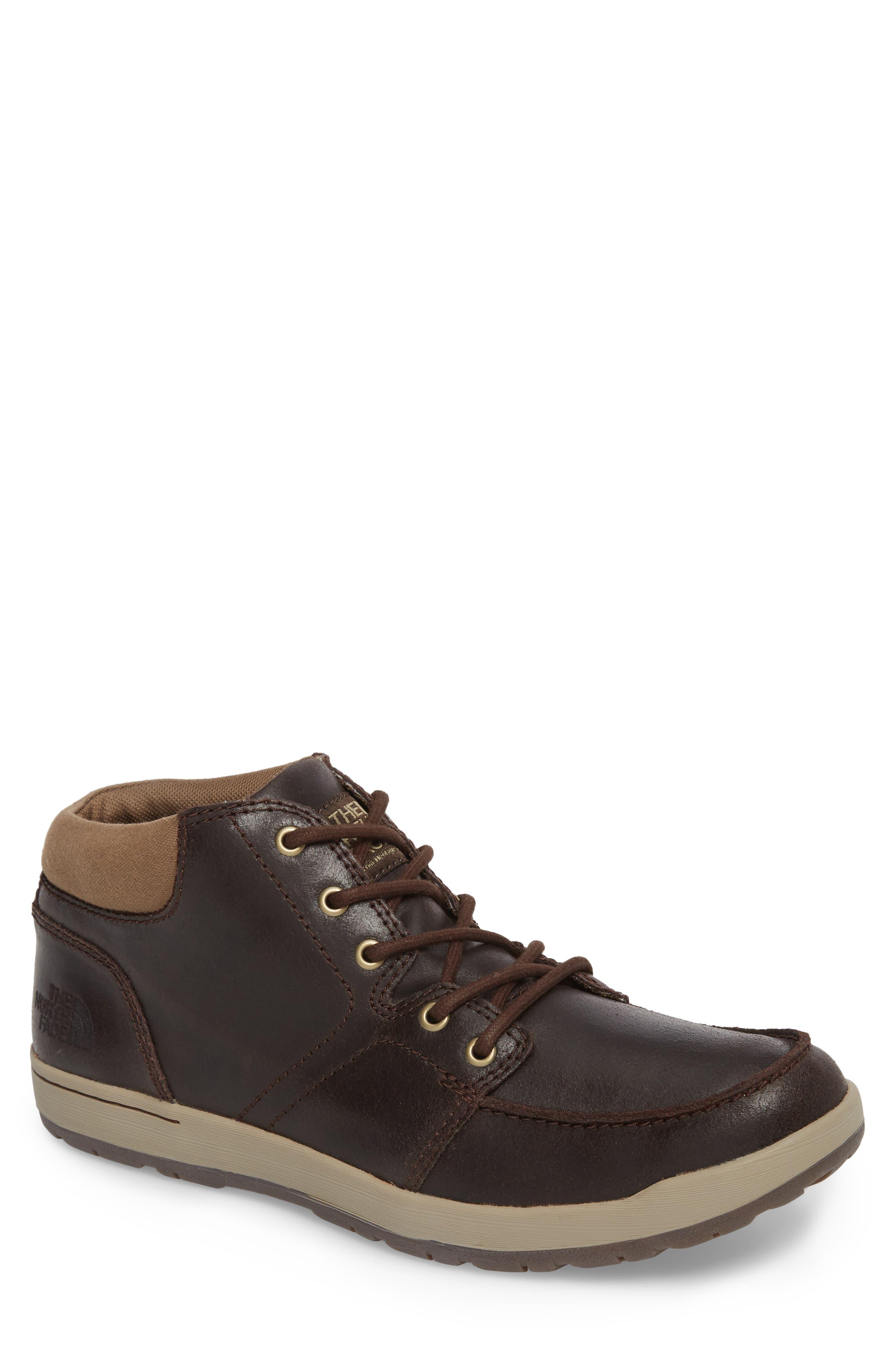 Ballard Evo Moc Toe Boot,                         Main,                         color, Demitasse Brown
