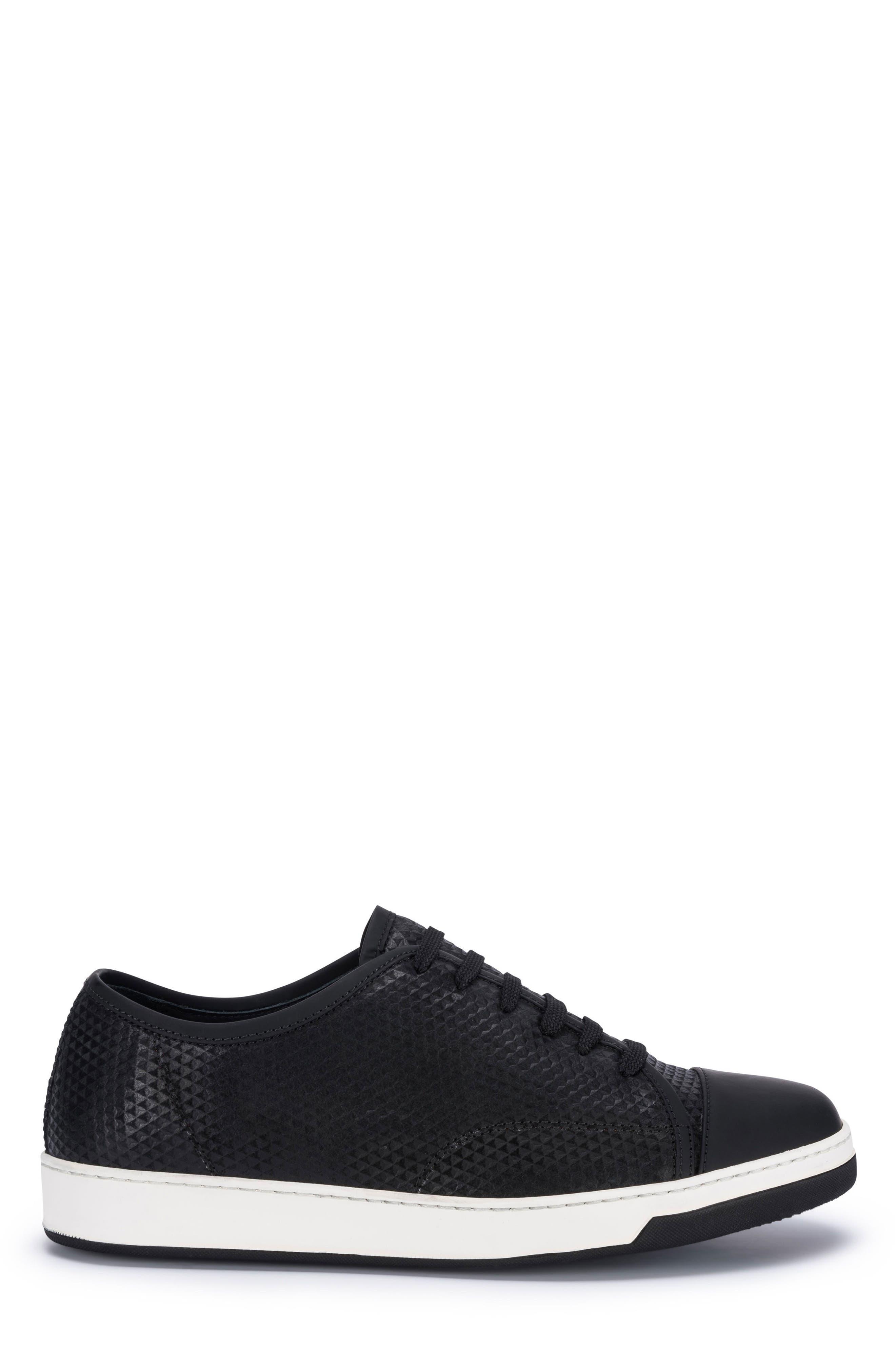 Ischia Sneaker,                             Alternate thumbnail 3, color,                             Black