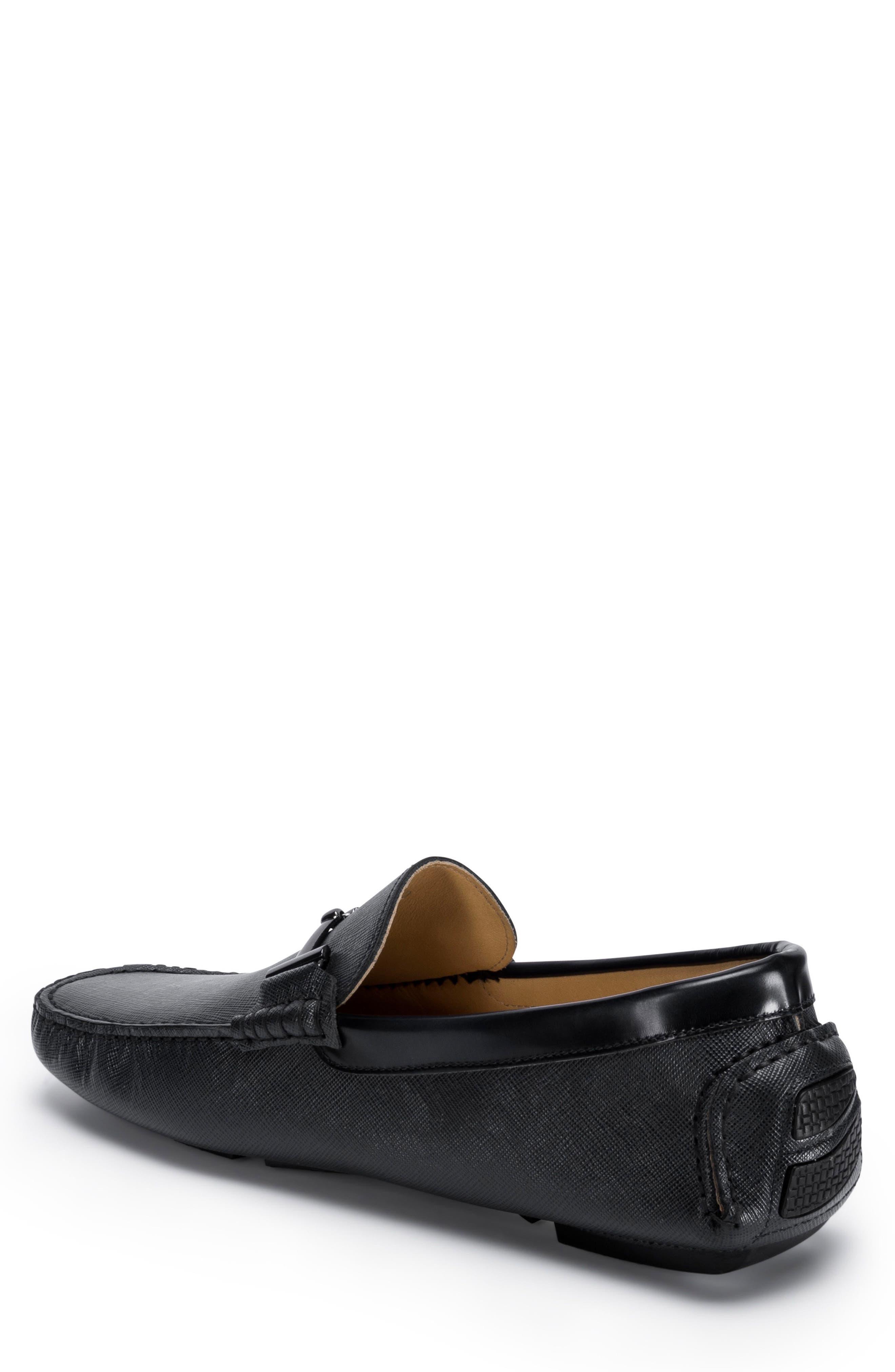 Capri Driving Shoe,                             Alternate thumbnail 2, color,                             Black