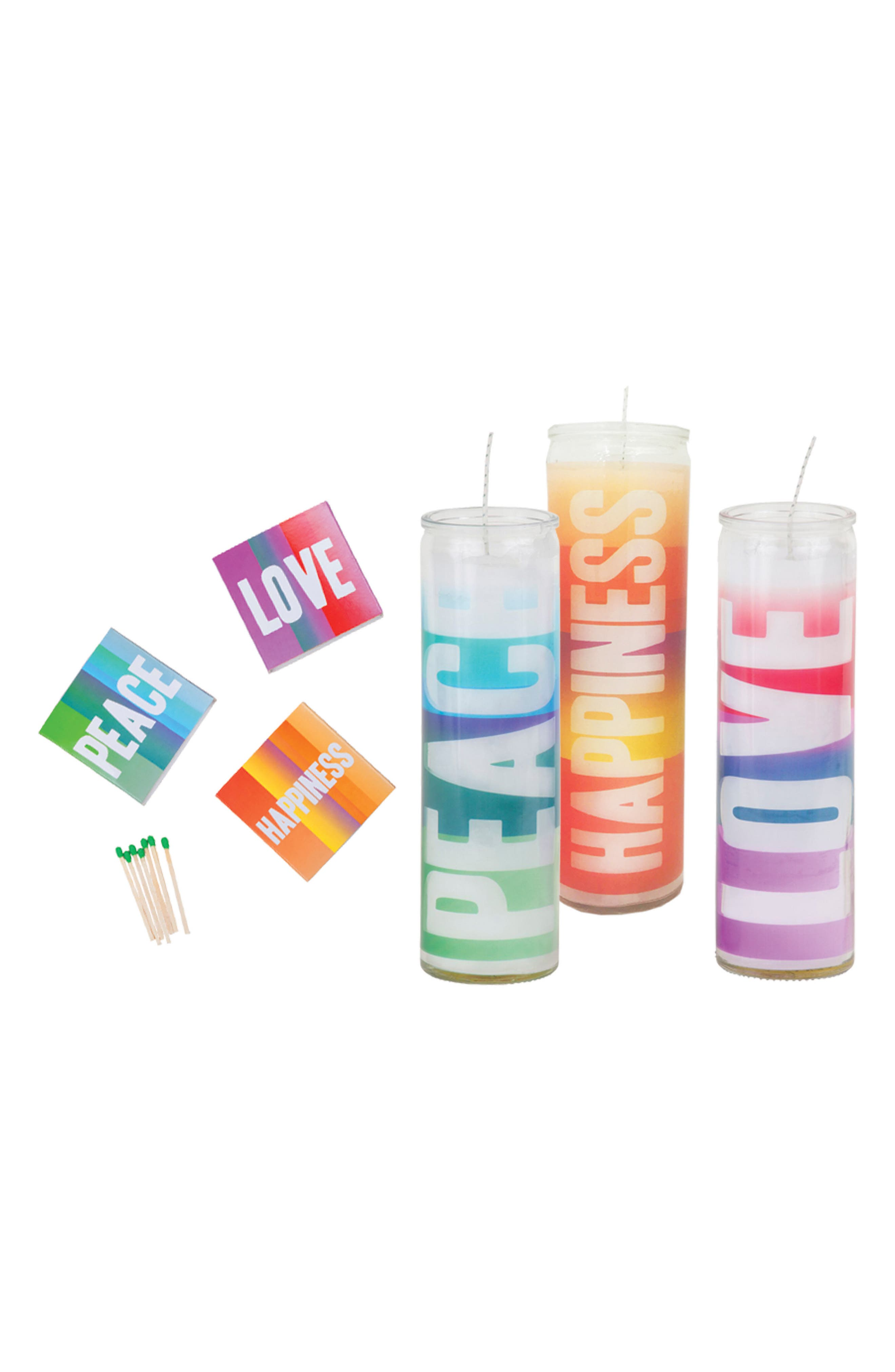 6-Piece Candle Gift Set,                             Main thumbnail 1, color,                             Multi