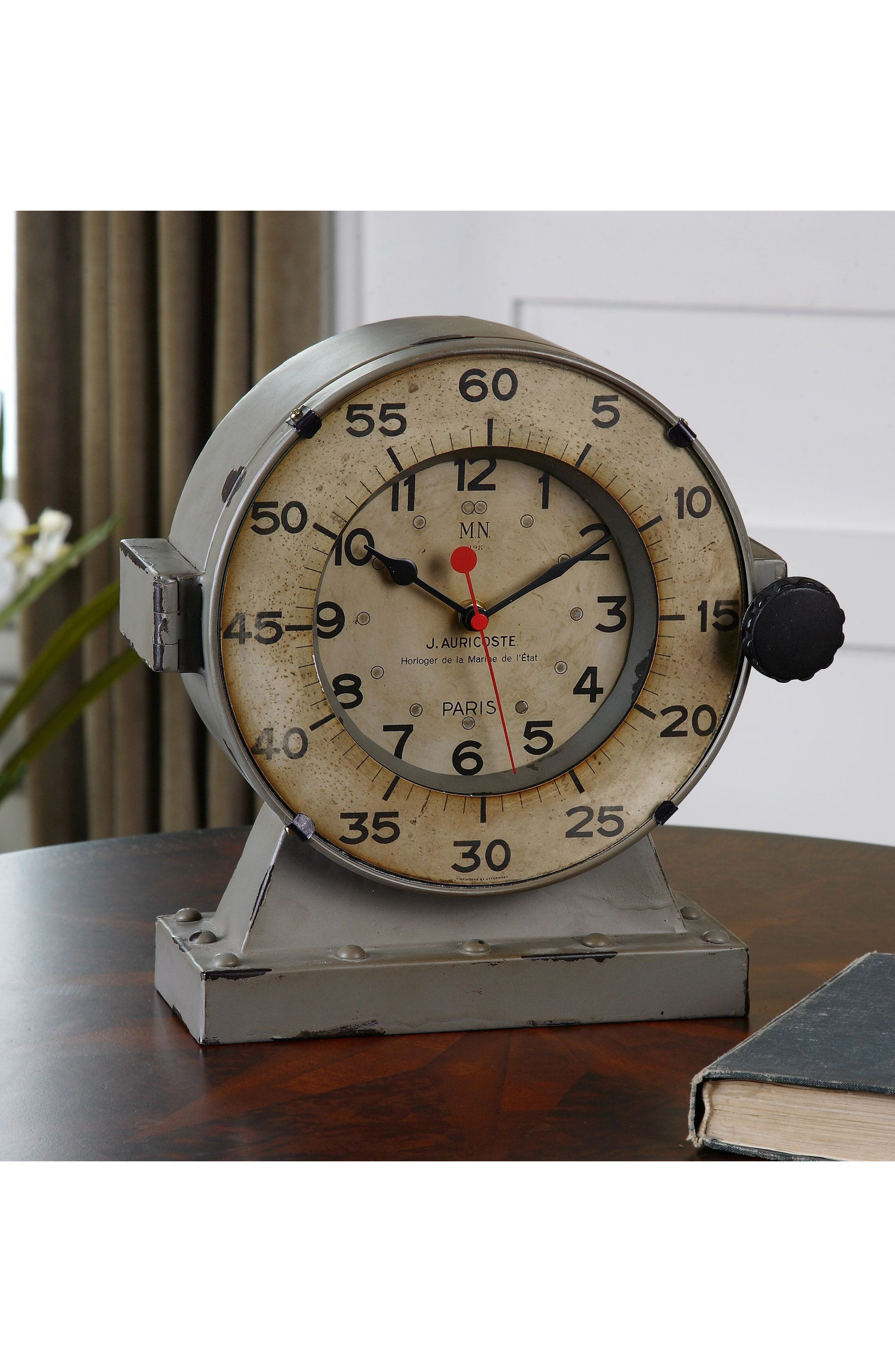 Alternate Image 2  - Uttermost Marine Clock