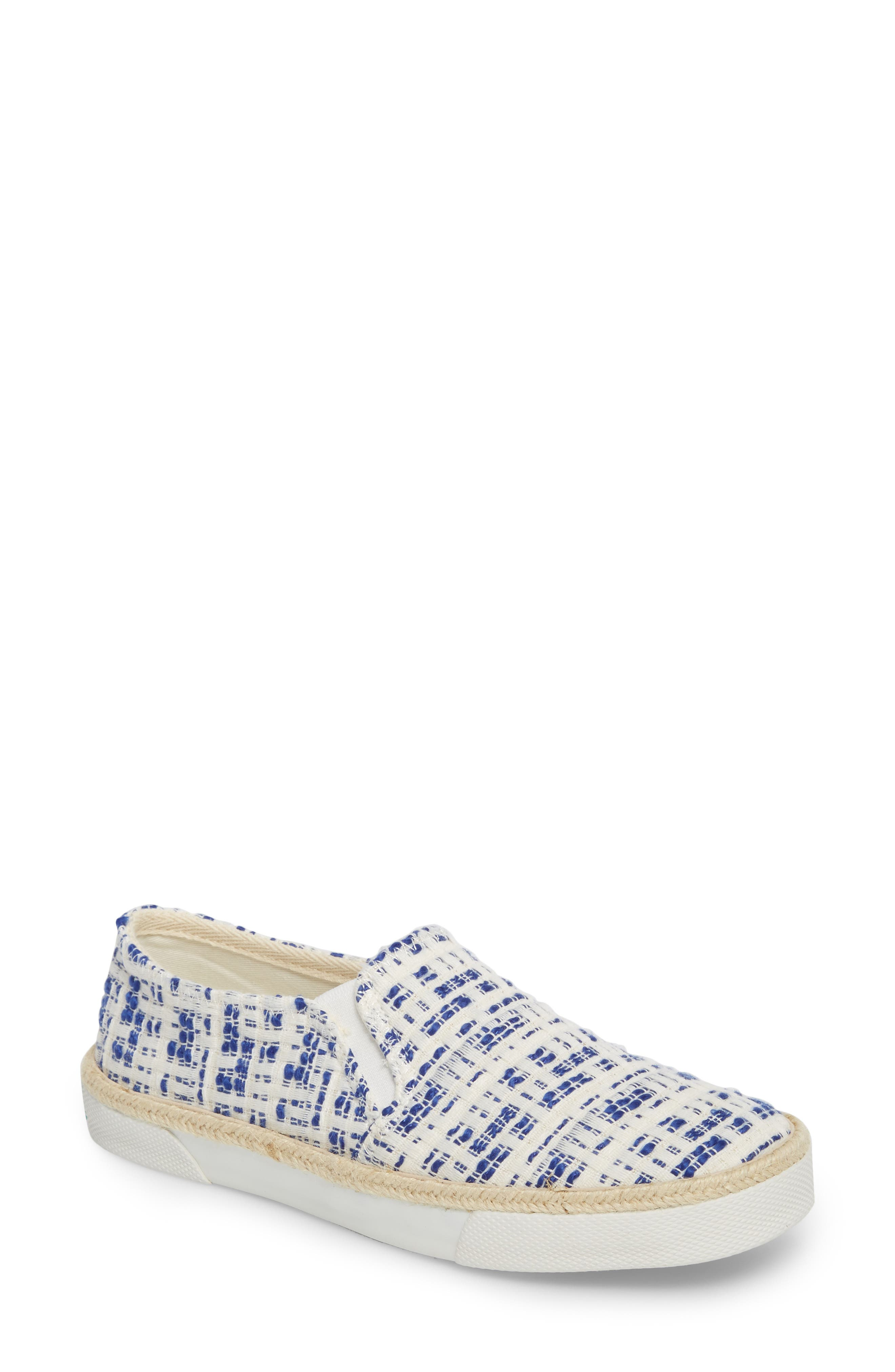 Tucker Slip-On Sneaker,                         Main,                         color, Royal Blue