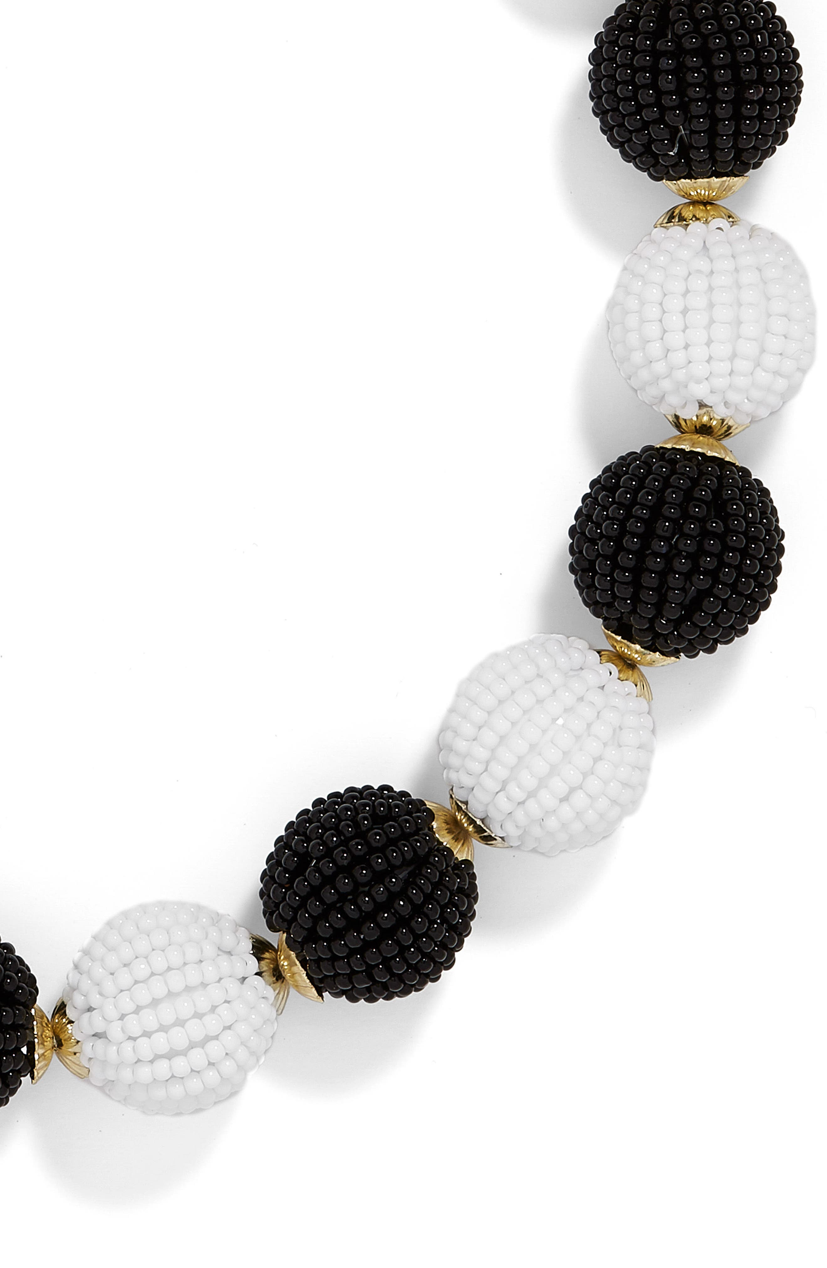 Alternate Image 2  - BaubleBar Beaded Ball Statement Necklace