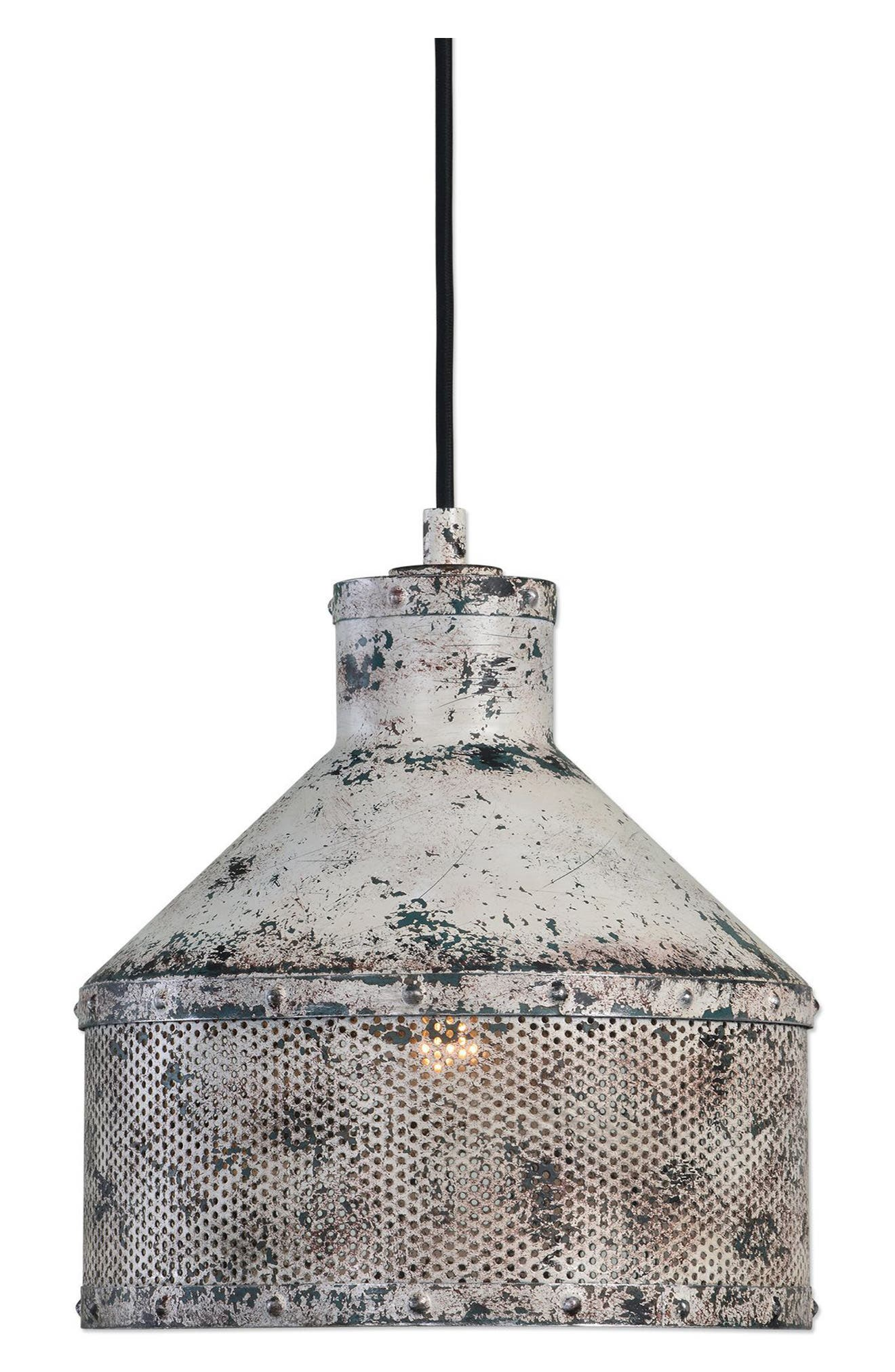 Granaio Pendant Lamp,                             Main thumbnail 1, color,                             Grey