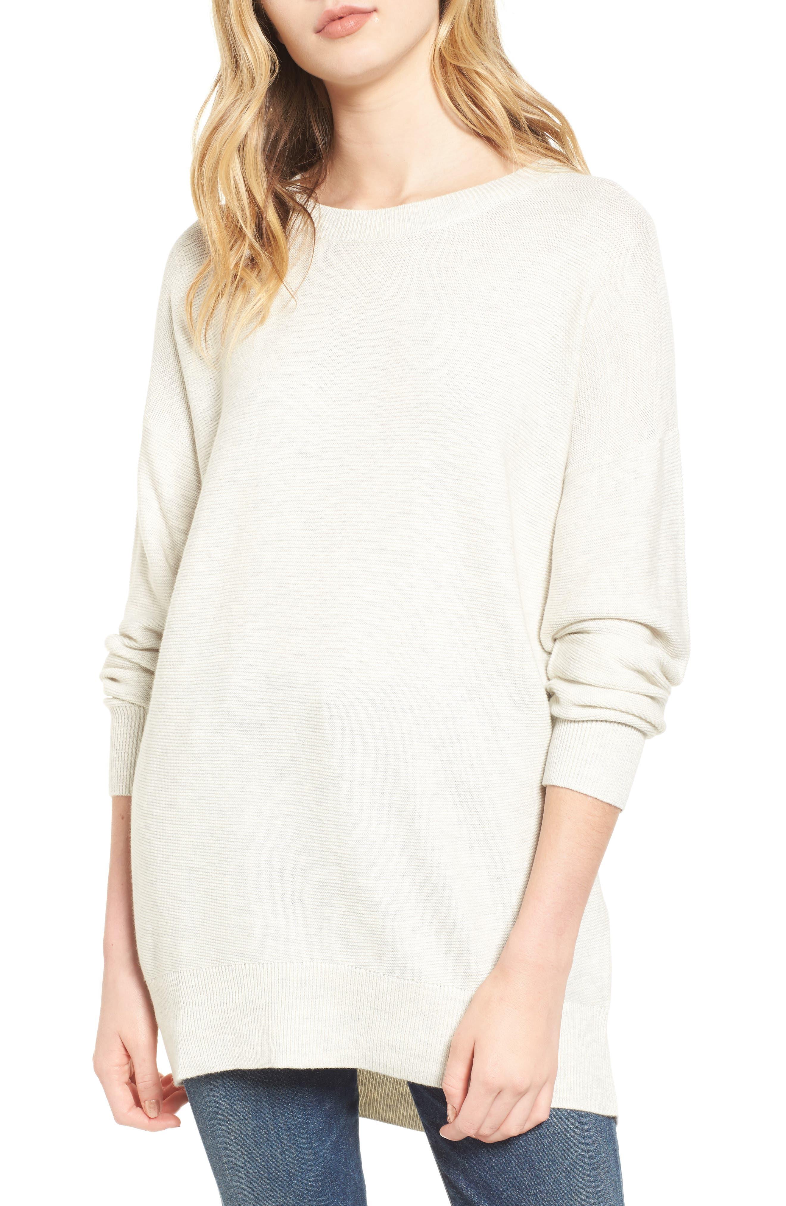 Splendid Laced Back Sweater