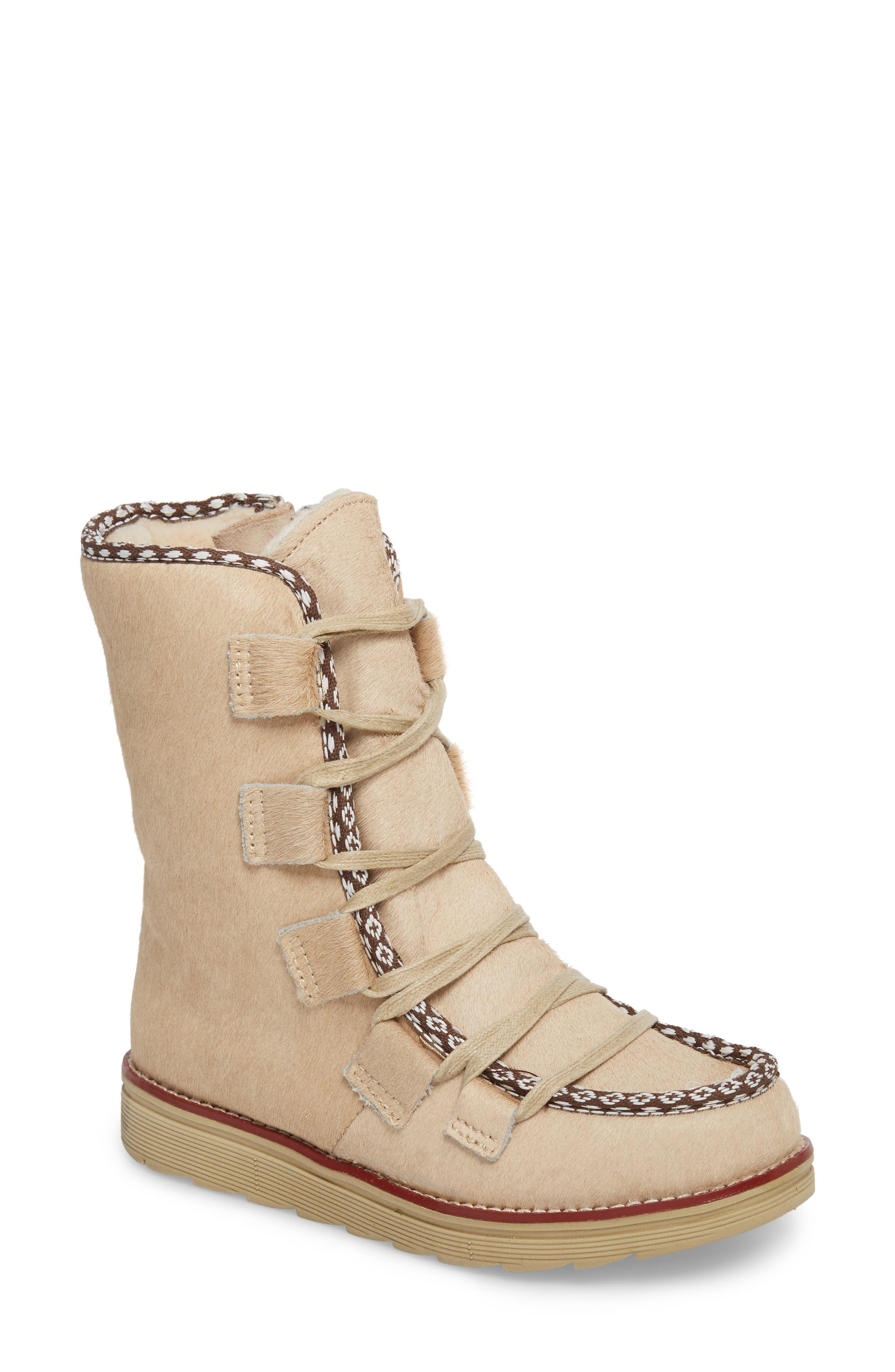 Main Image - Royal Canadian Kitchener Waterproof Genuine Calf Hair Snow Boot (Women)