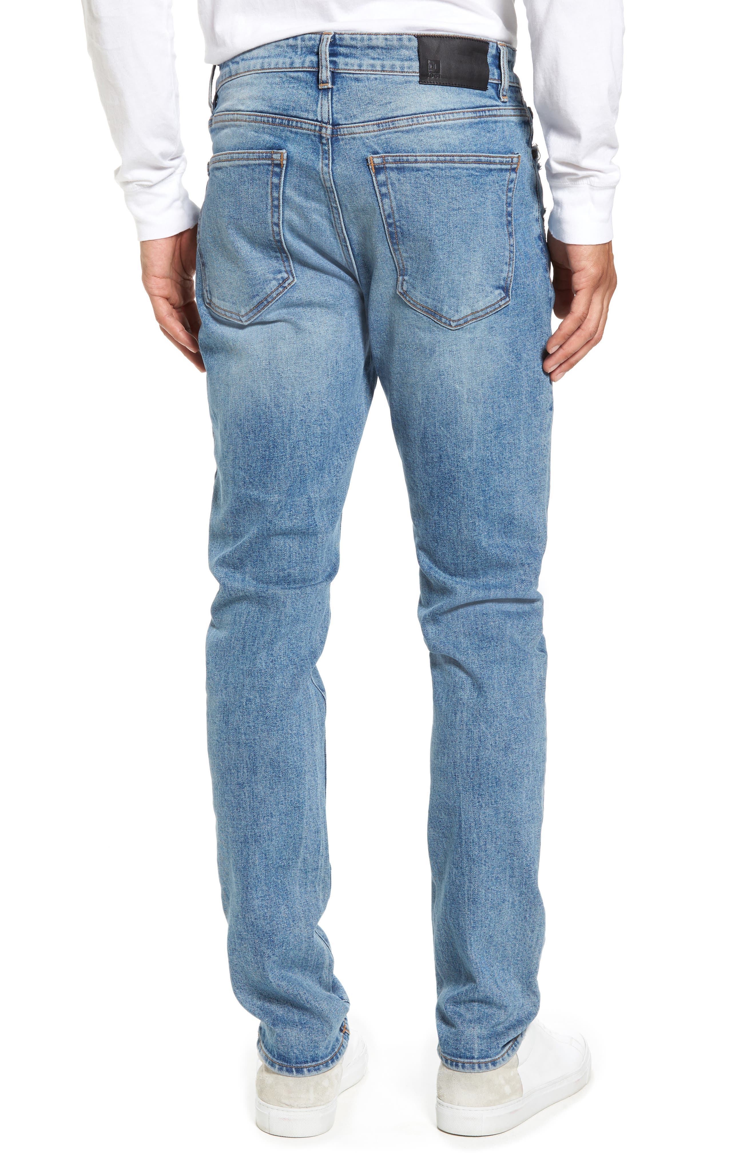 Cooper Slouchy Skinny Jeans,                             Alternate thumbnail 2, color,                             Breathe