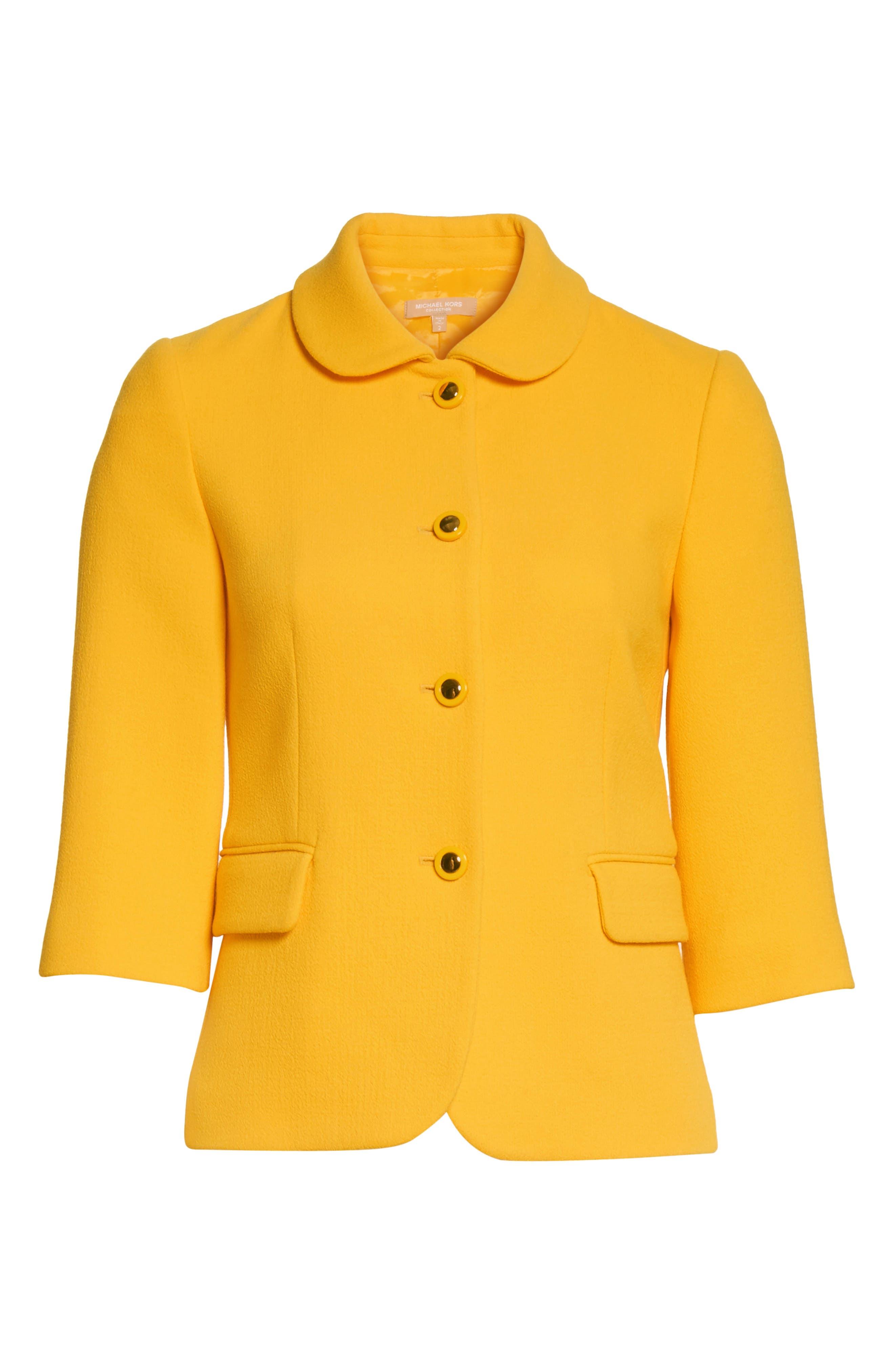 Alternate Image 6  - Michael Kors Stretch Bouclé Crepe Jacket