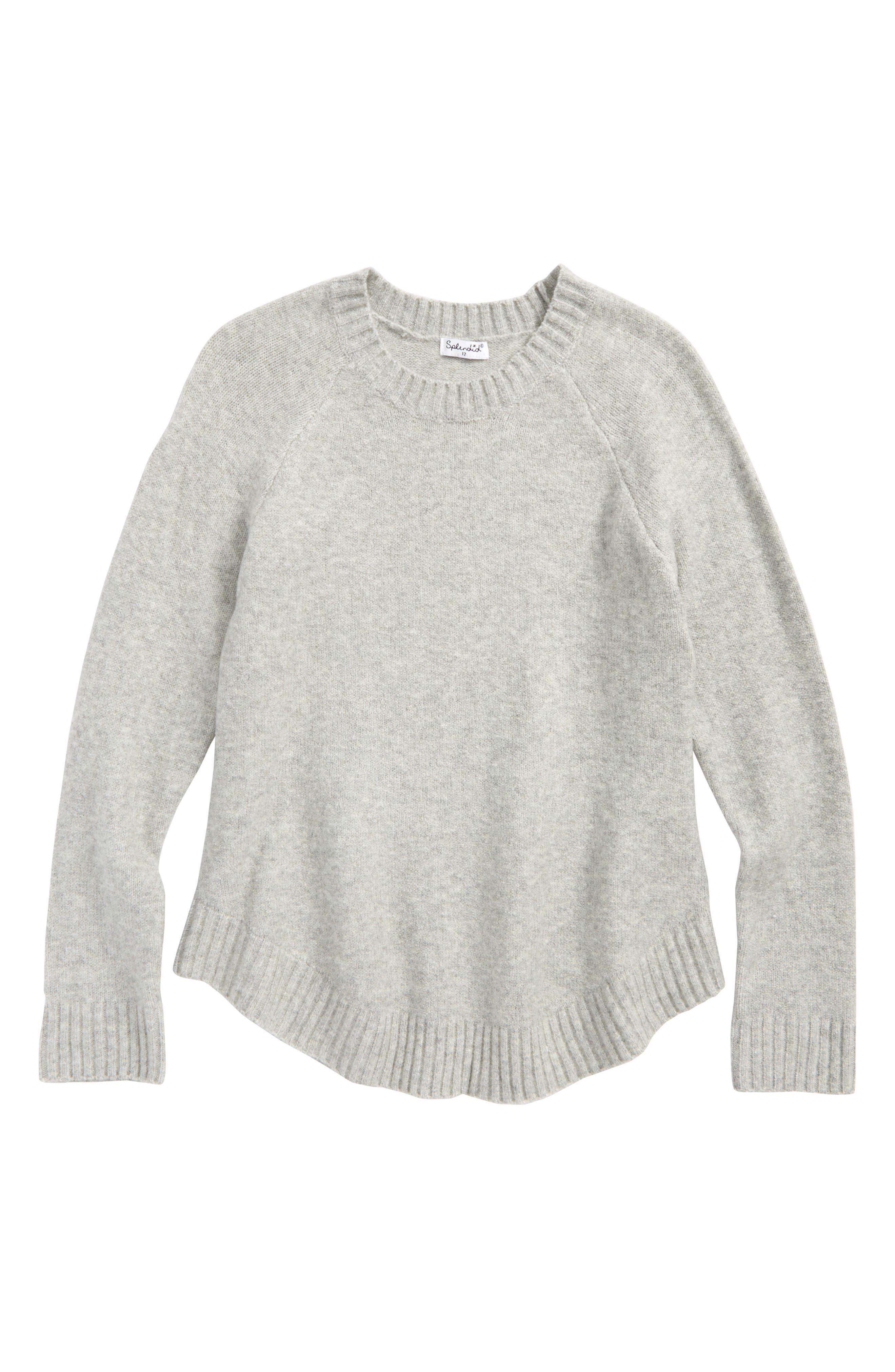 Splendid Poncho Sweater (Big Girls)