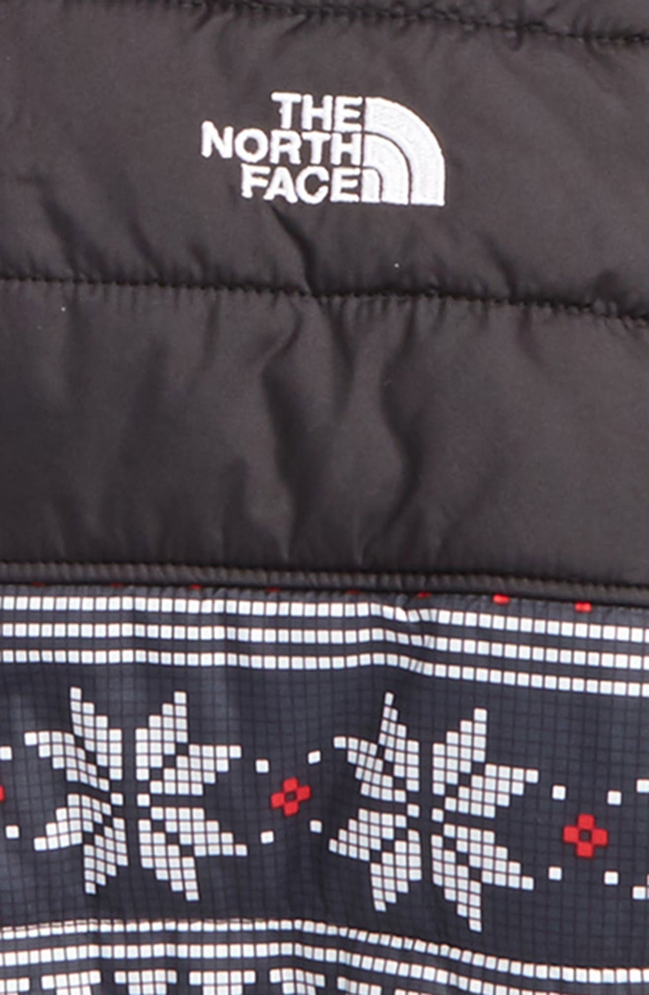 Chimborazo Reversible Jacket,                             Alternate thumbnail 3, color,                             Holiday Fair Isle Print