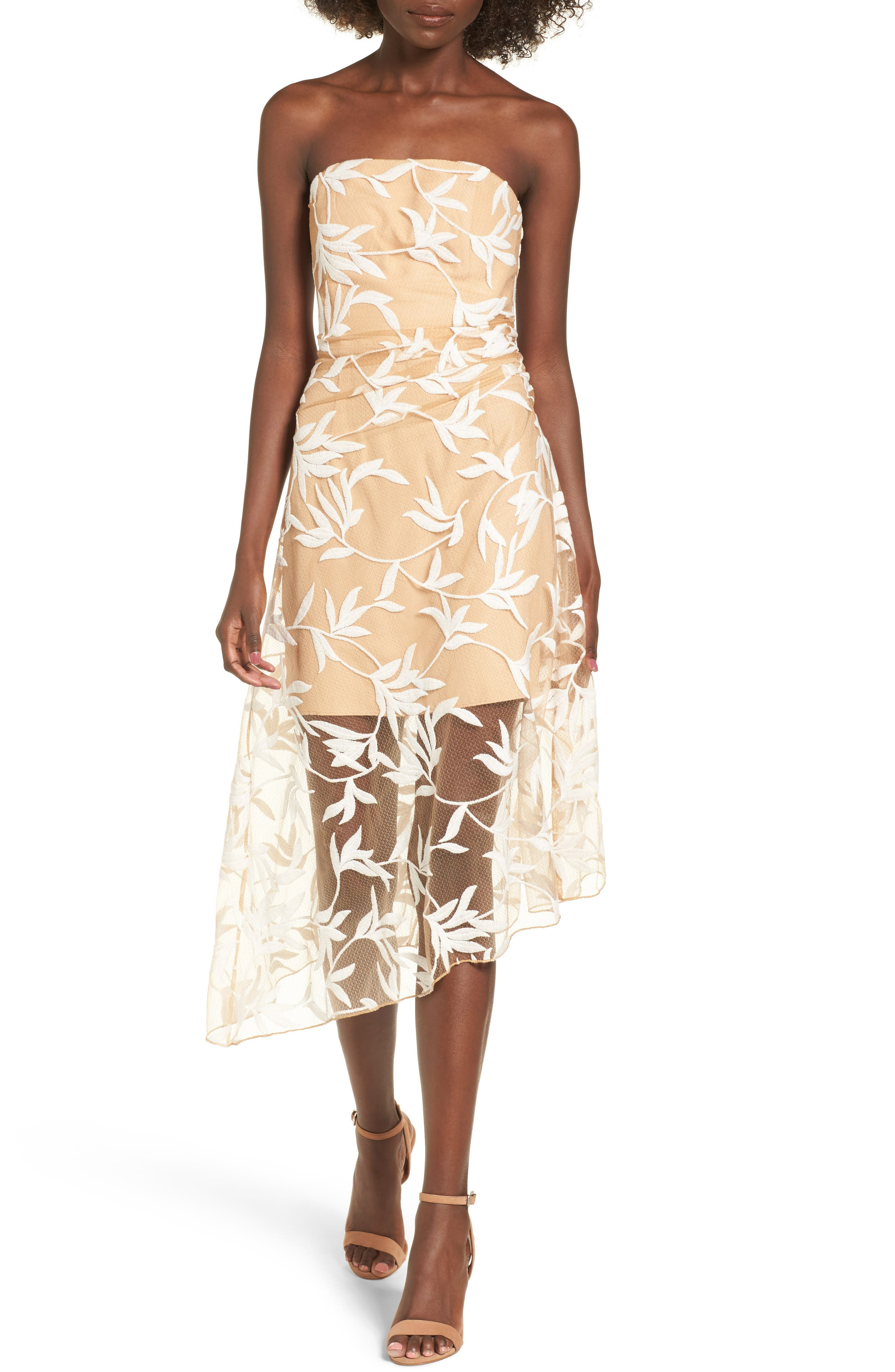 Alternate Image 1 Selected - Keepsake the Label Fast Lanes Midi Dress