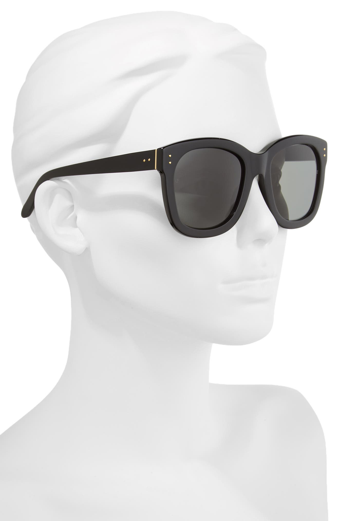 Alternate Image 2  - Linda Farrow 56mm Square Sunglasses