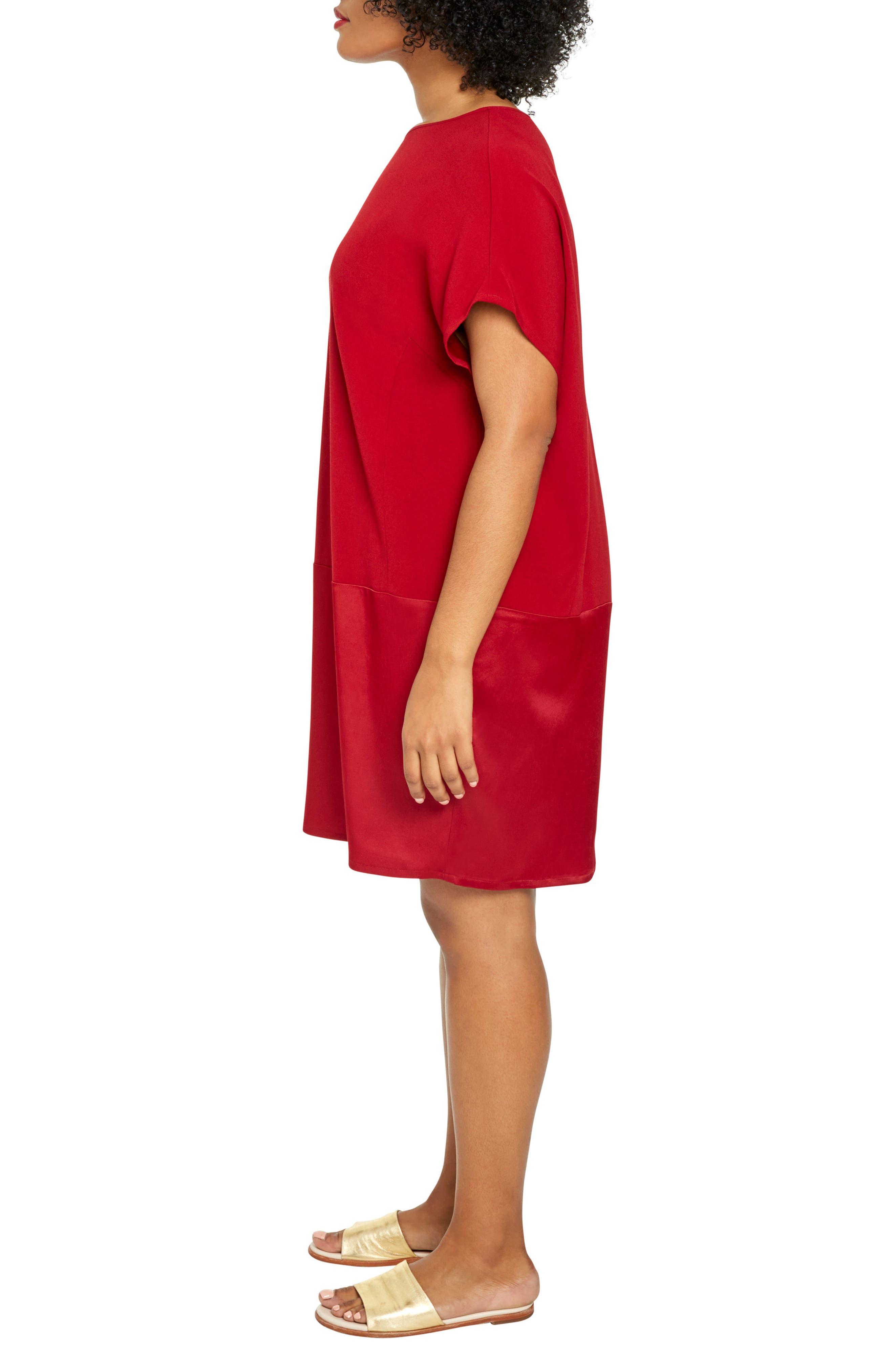 Alternate Image 3  - UNIVERSAL STANDARD Avenir Drop Waist Dress (Plus Size)