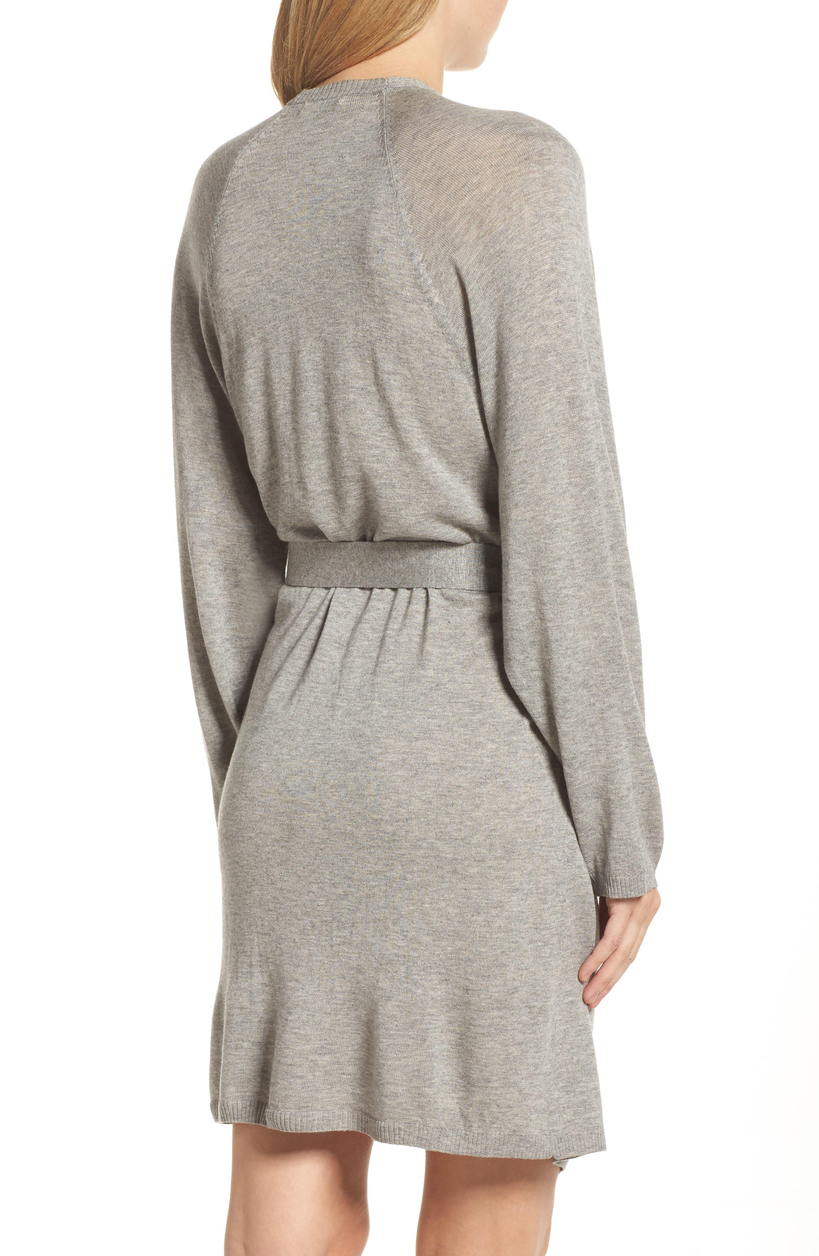 Alternate Image 2  - skin Mina Short Robe
