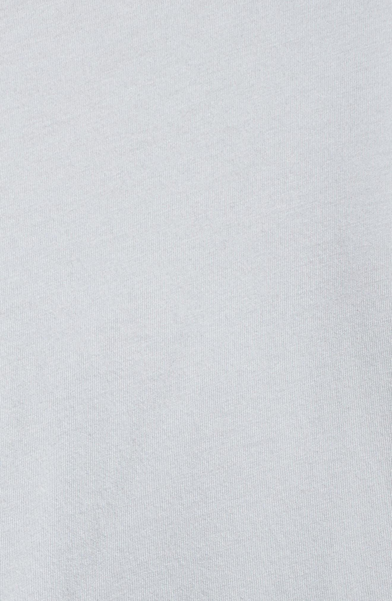 Coco Short Robe,                             Alternate thumbnail 5, color,                             Storm Blue